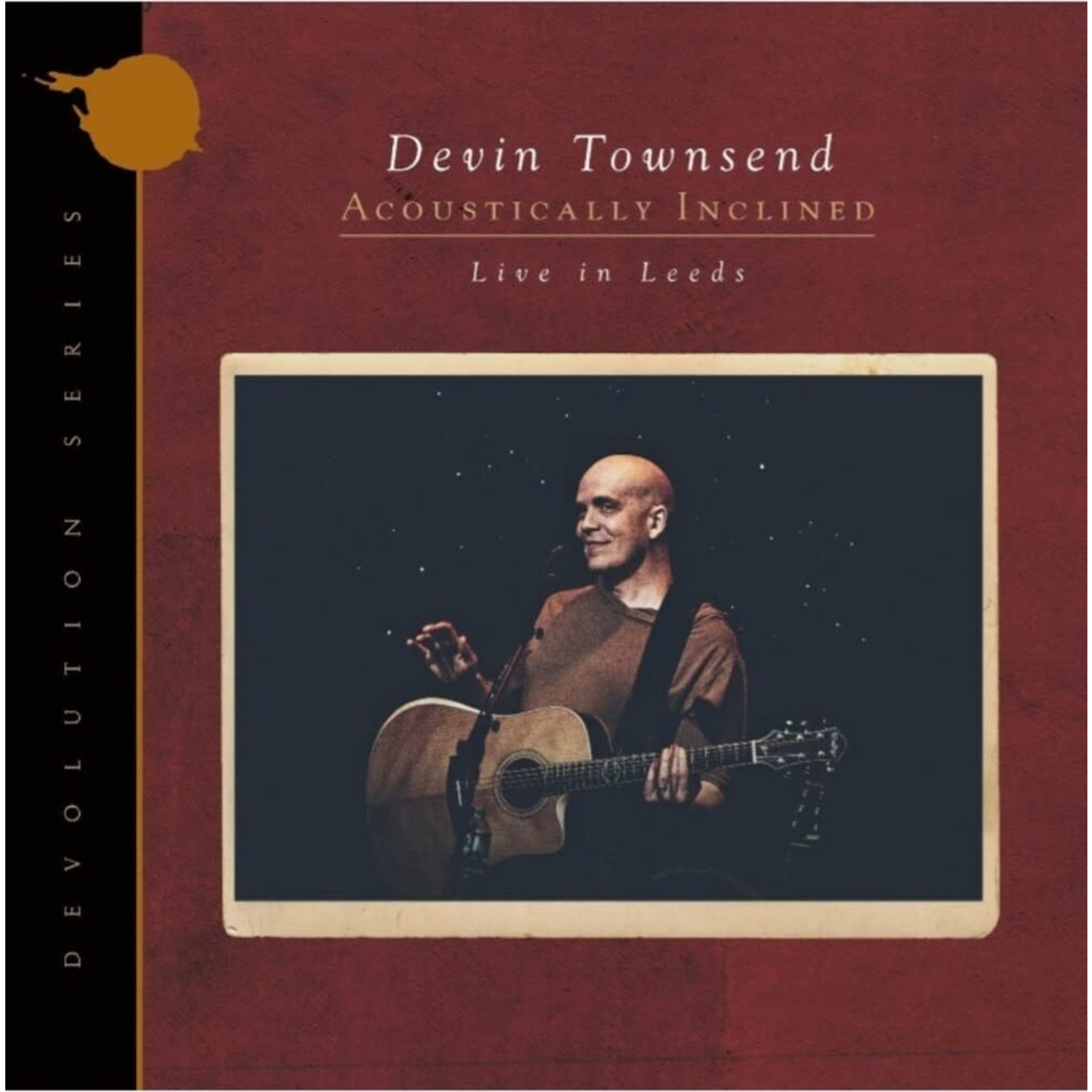 DEVIN TOWNSEND ACOUSTICALLY INCLINED LIVE AT LEEDS  LTD. EDITION  RUBY VINYL