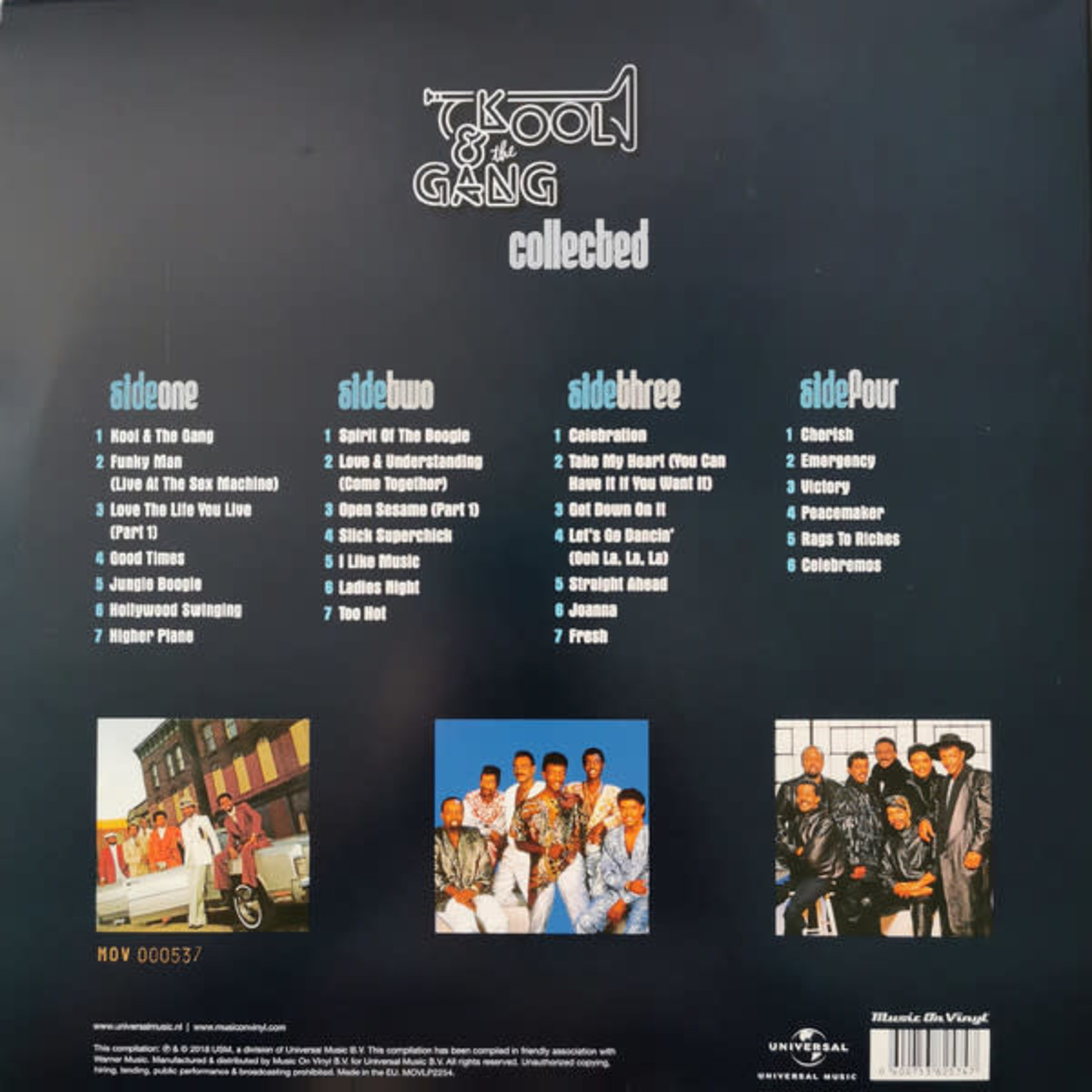 KOOL AND THE GANG COLLECTED / WHITE VINYL