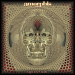 AMORPHIS QUEEN OF TIME  LTD EDITION RED MARBLE VINYL LP