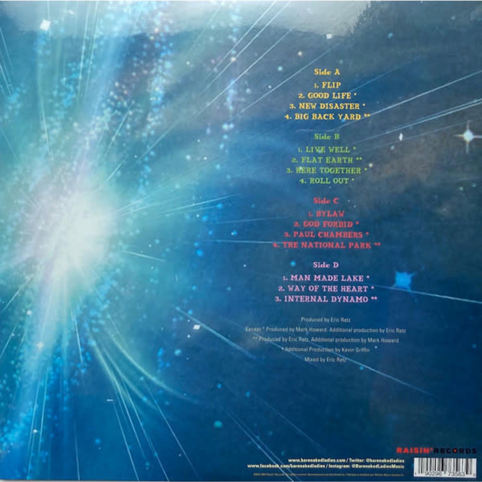 BARENAKED LADIES  DETOUR DE FORCE  LTD EDITION BLUE VINYL (LP)