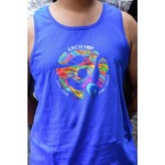 ARCHTOP SPACER - UNISEX TANK - PSYCHEDELIC DISTRESSED