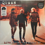 """QUEEN RSD21 - LIVE AROUND THE WORLD + LOVE ME LIKE THERE'S NO TOMORROW (PINK 7"""" + LP)"""