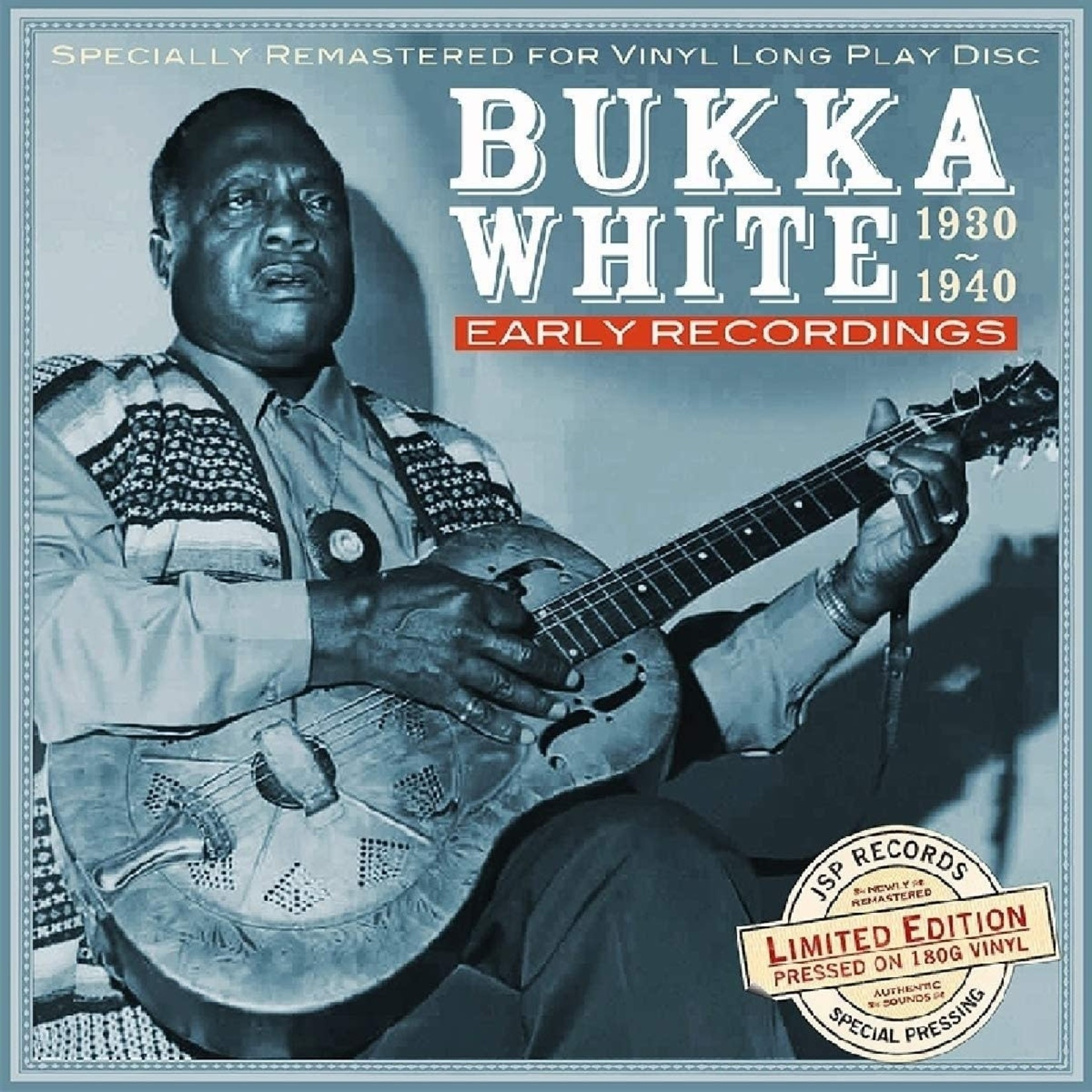 BUKKA WHITE EARLY RECORDINGS 1930-1940  LP