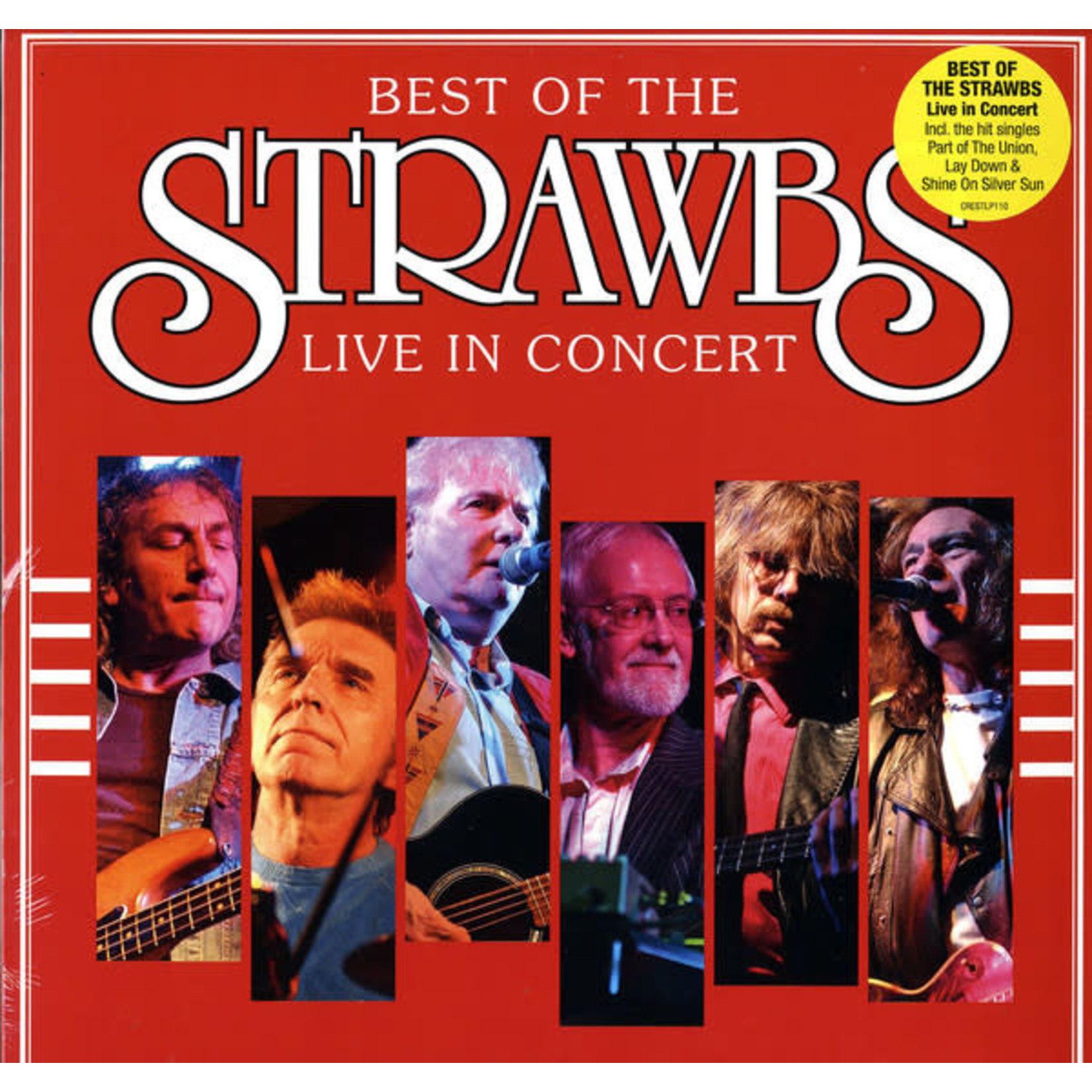 THE STRAWBS BEST OF: LIVE IN CONCERT  LP