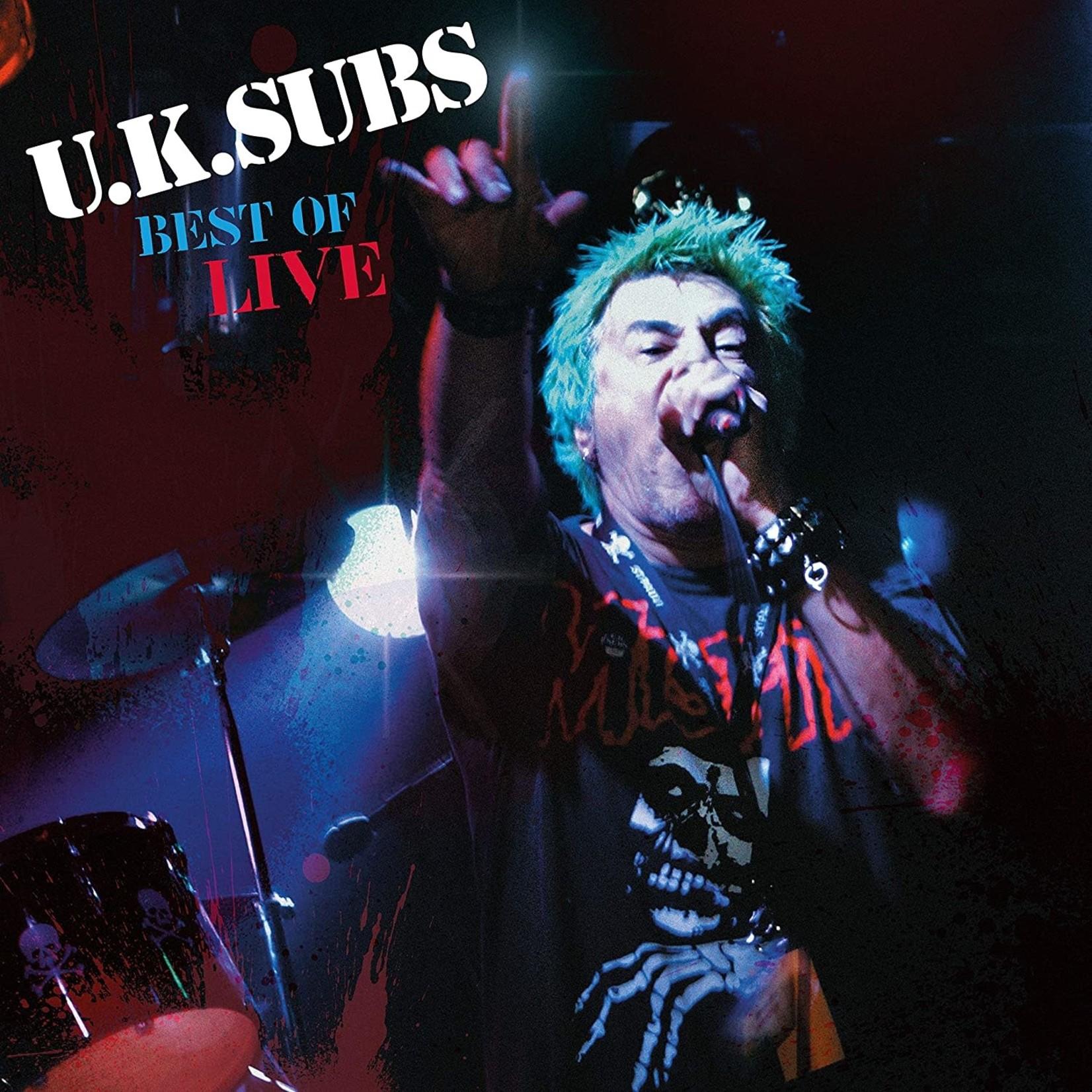 UK SUBS BEST OF LIVE  LP