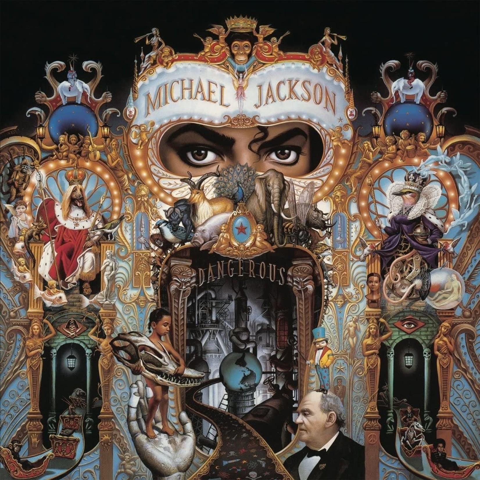 MICHAEL JACKSON DANGEROUS  2LP