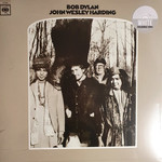 BOB DYLAN JOHN WESLEY HARDING  2010 MONO VERSION (WHITE VINYL) LP
