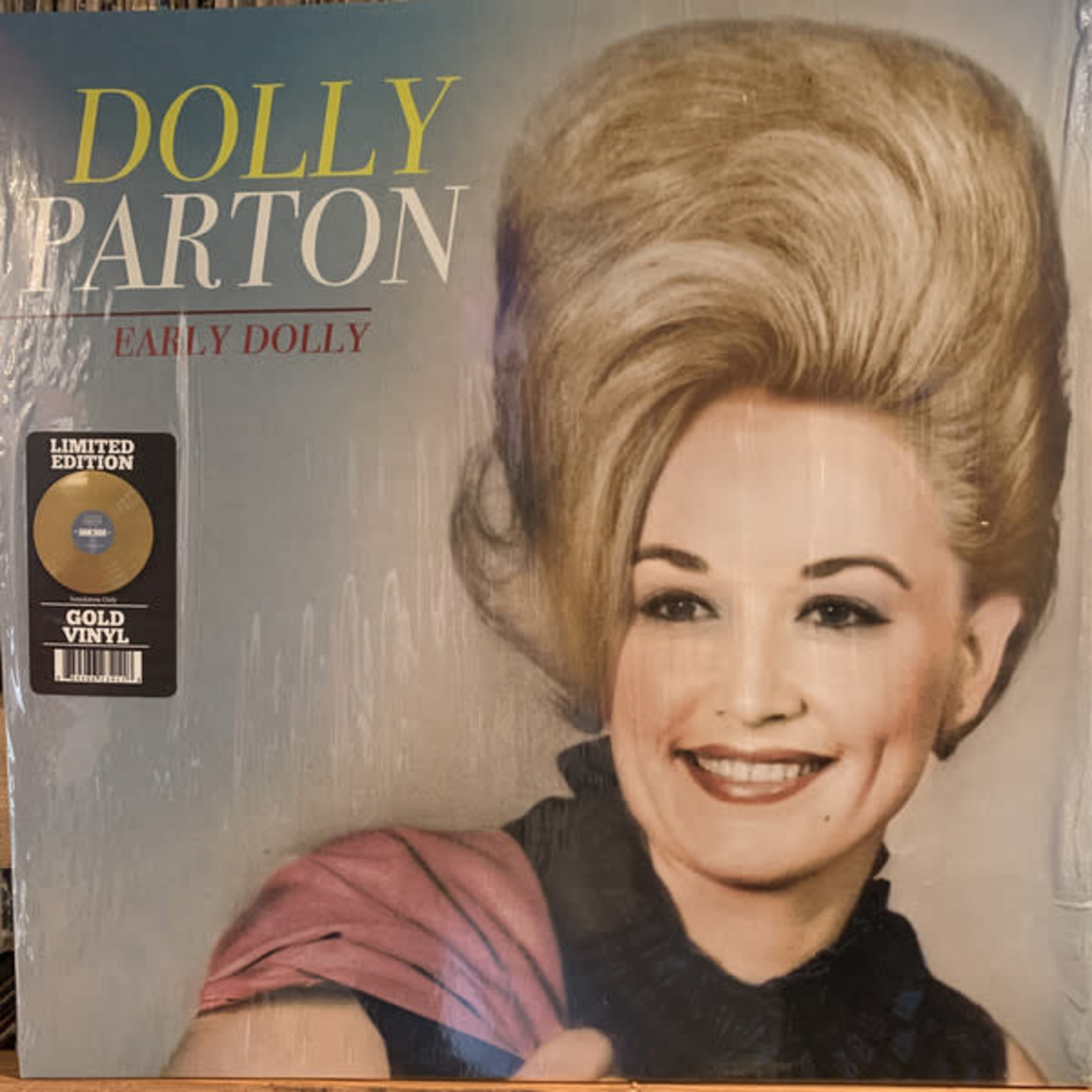 DOLLY PARTON EARLY DOLLY  LTD EDITION GOLD VINYL LP
