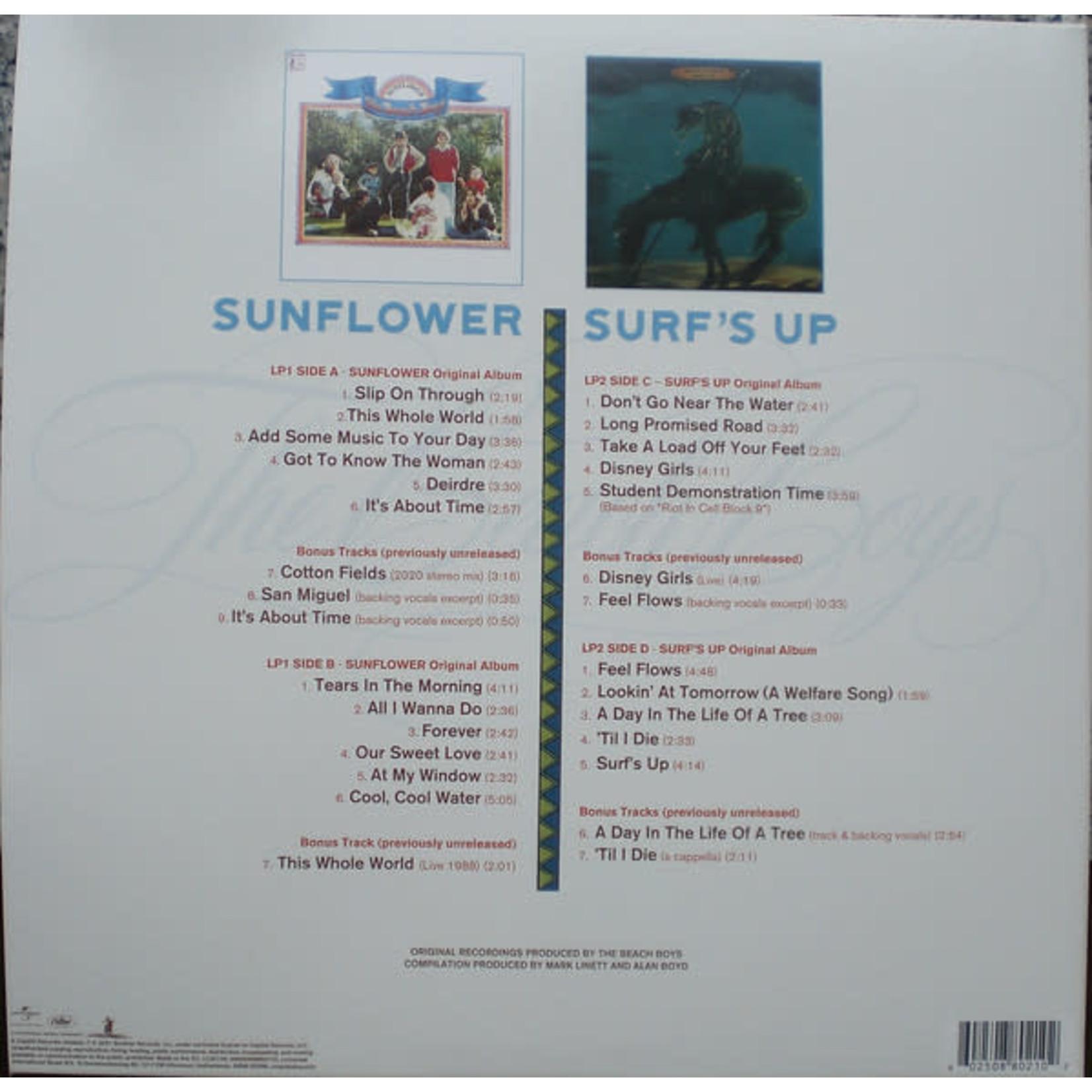 BEACH BOYS FEEL FLOWS: THE SUNFLOWER / SURF'S UP SESSIONS  (2LP)
