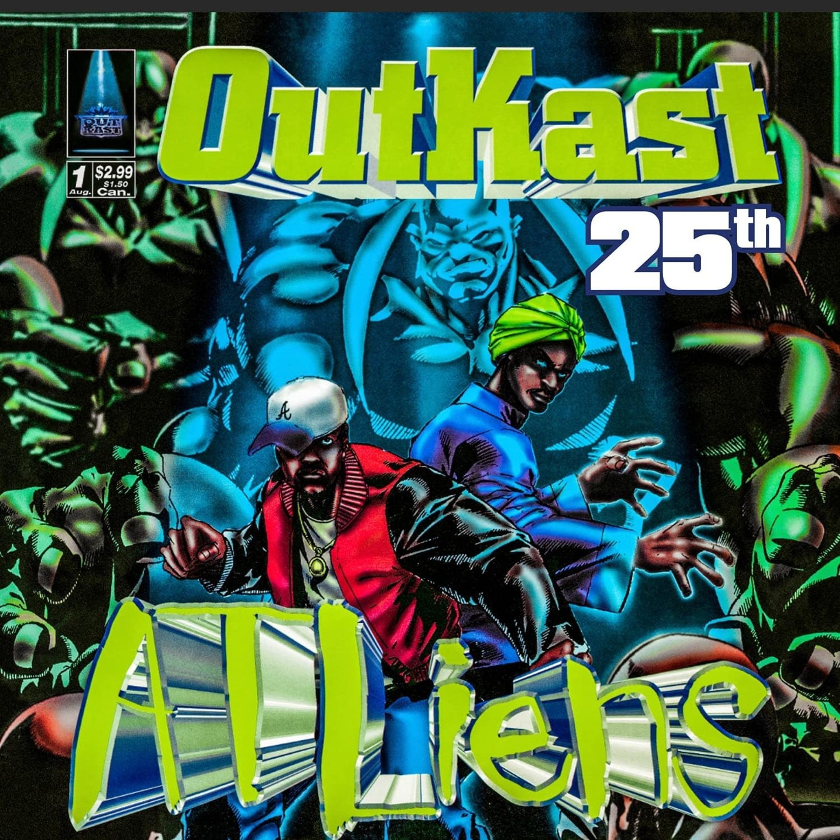 OUTKAST ATLIENS (25TH ANNIVERSARY DLX EDITION)  4LP