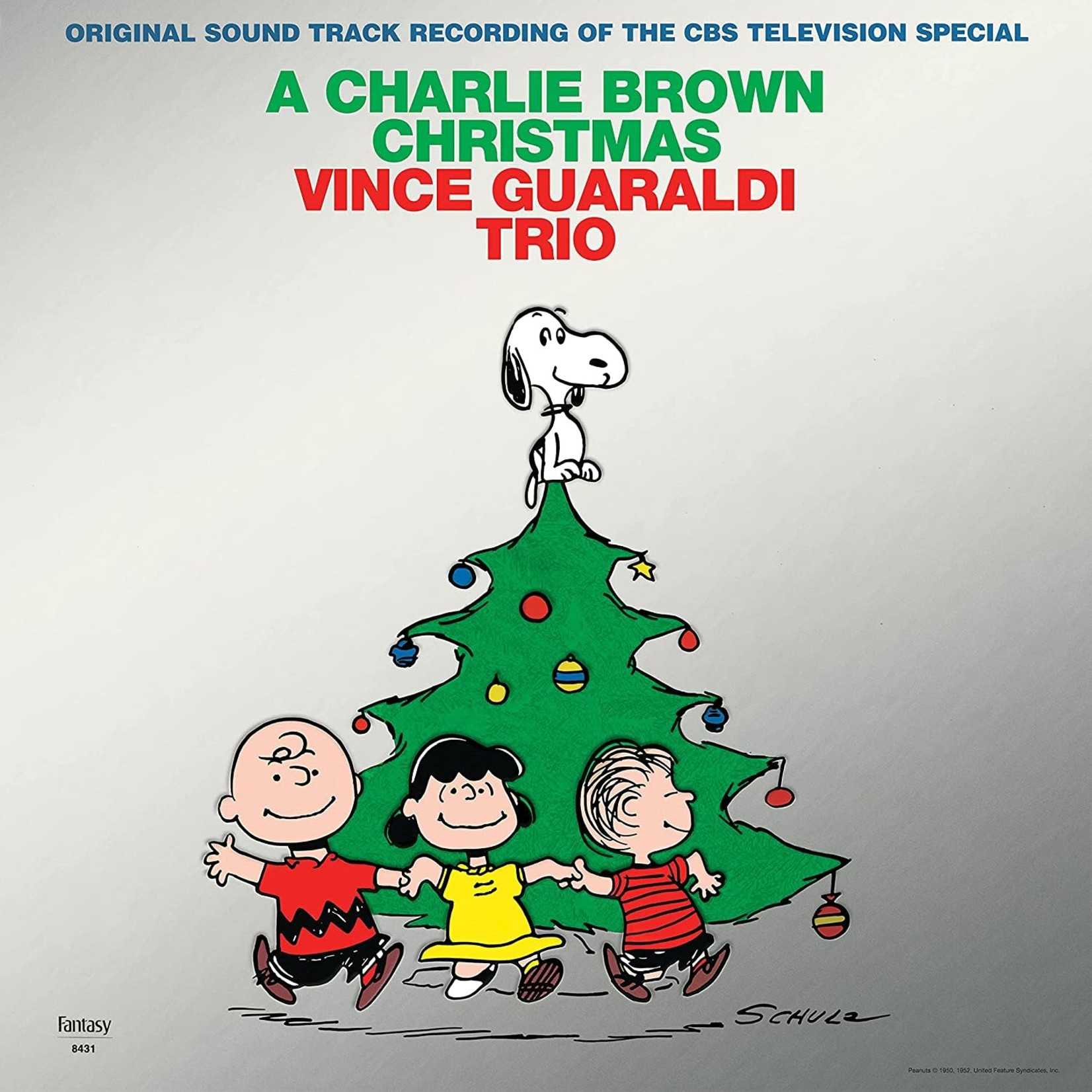 VINCE GUARALDI A CHARLIE BROWN CHRISTMAS (LP)