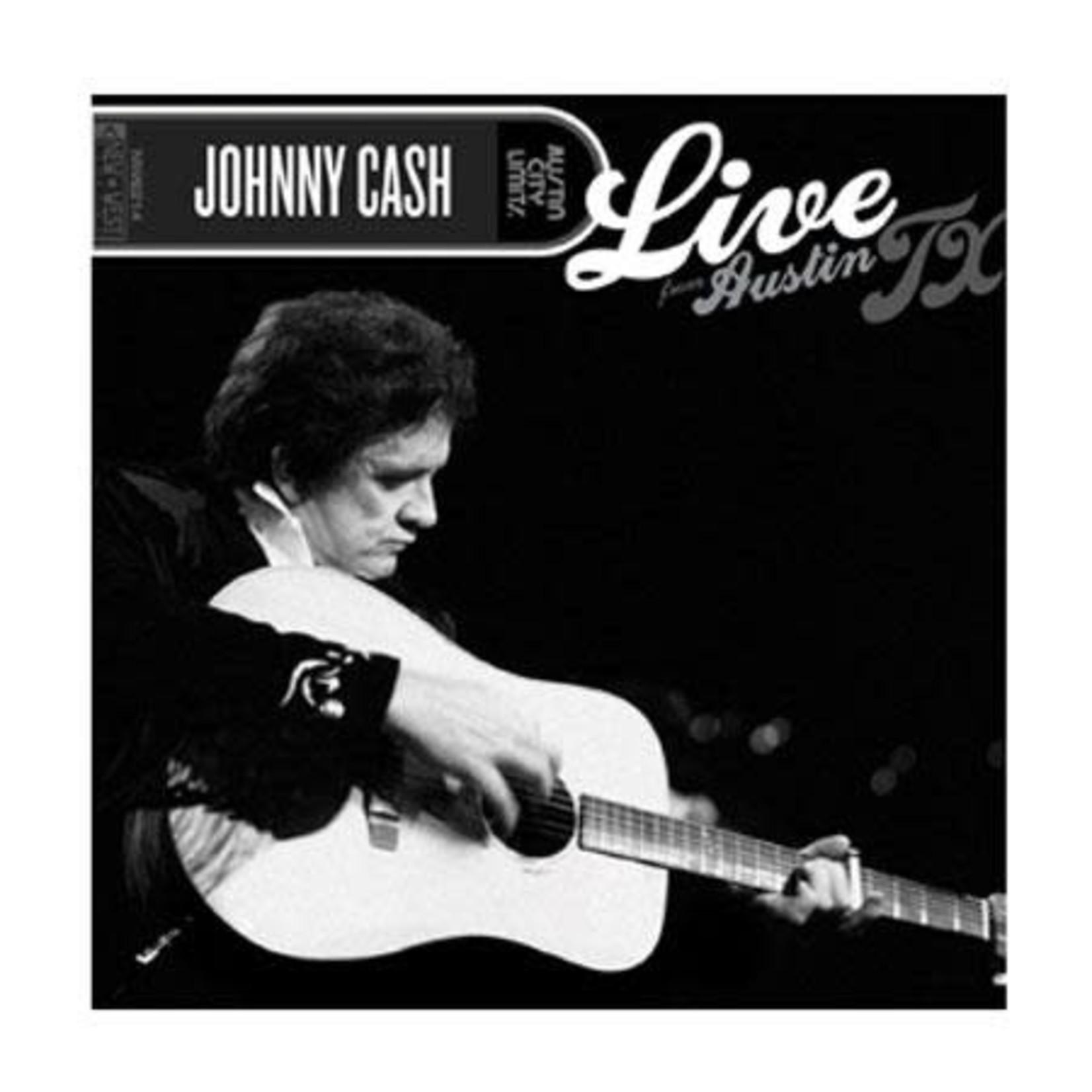 JOHNNY CASH LIVE FROM AUSTIN, TX  LP