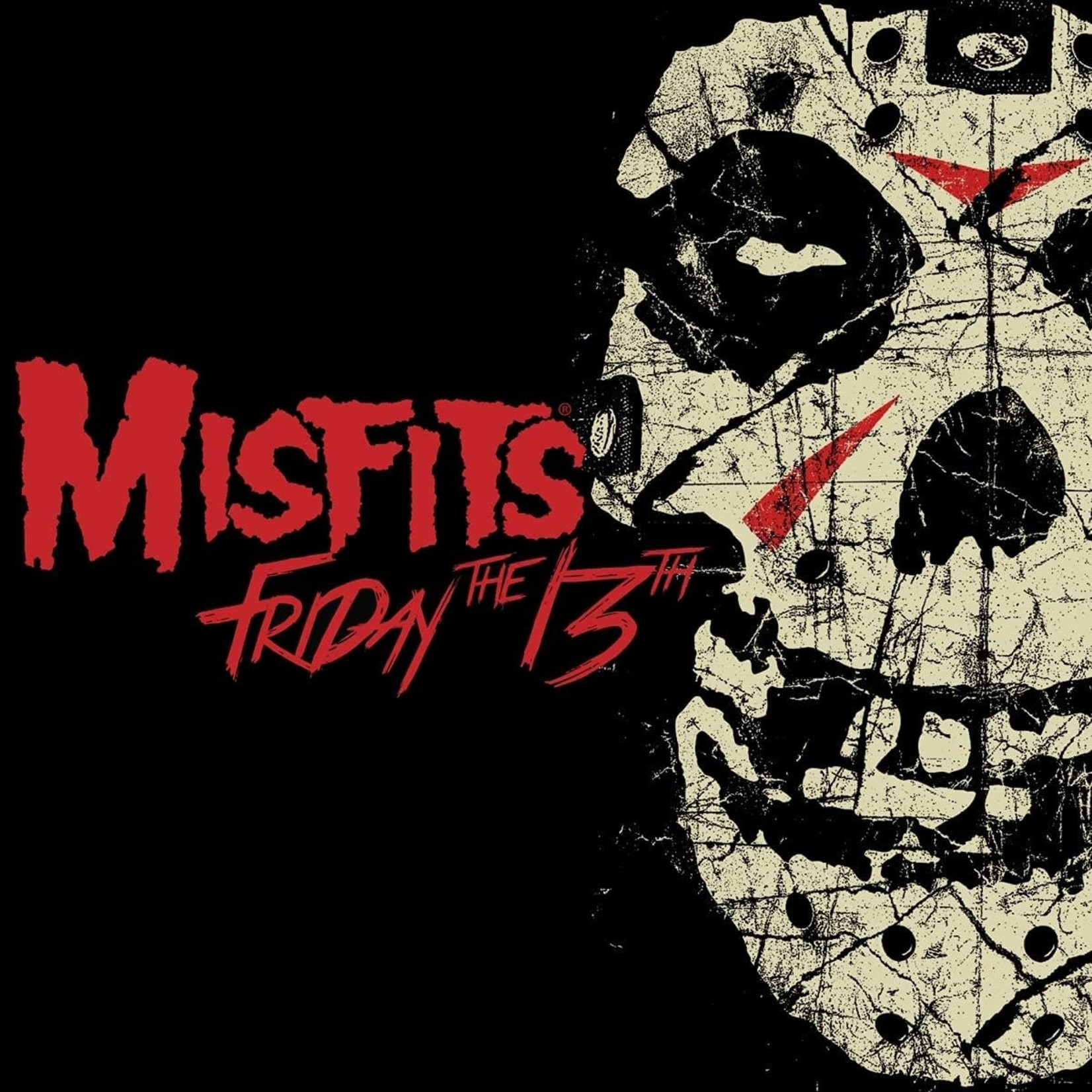 """THE MISFITS FRIDAY THE 13TH  12"""" EP 45 RPM"""