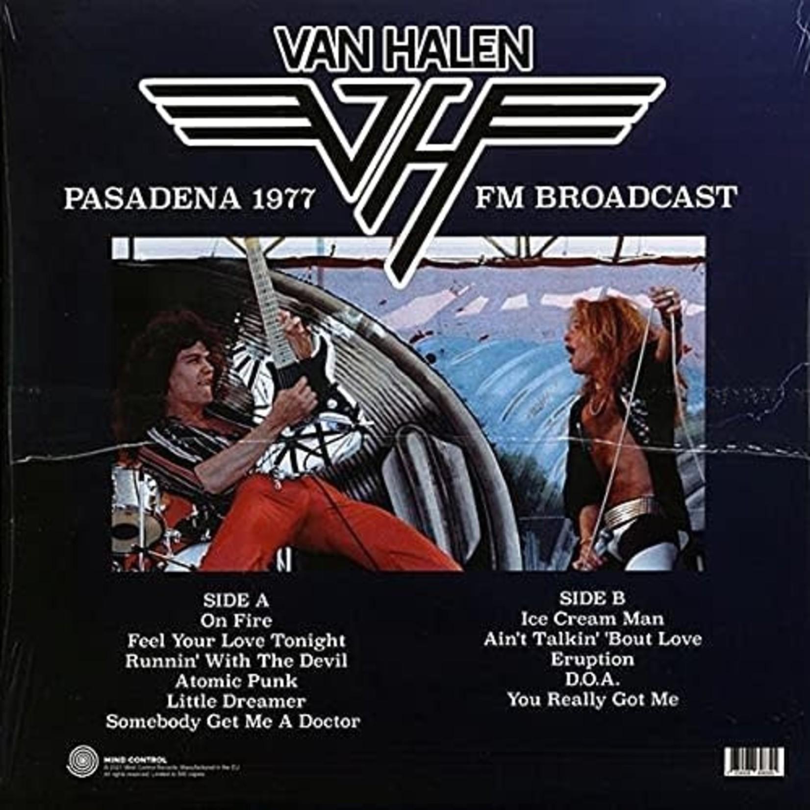 VAN HALEN LIVE IN PASADENA 1977 FM BROADCAST  LP