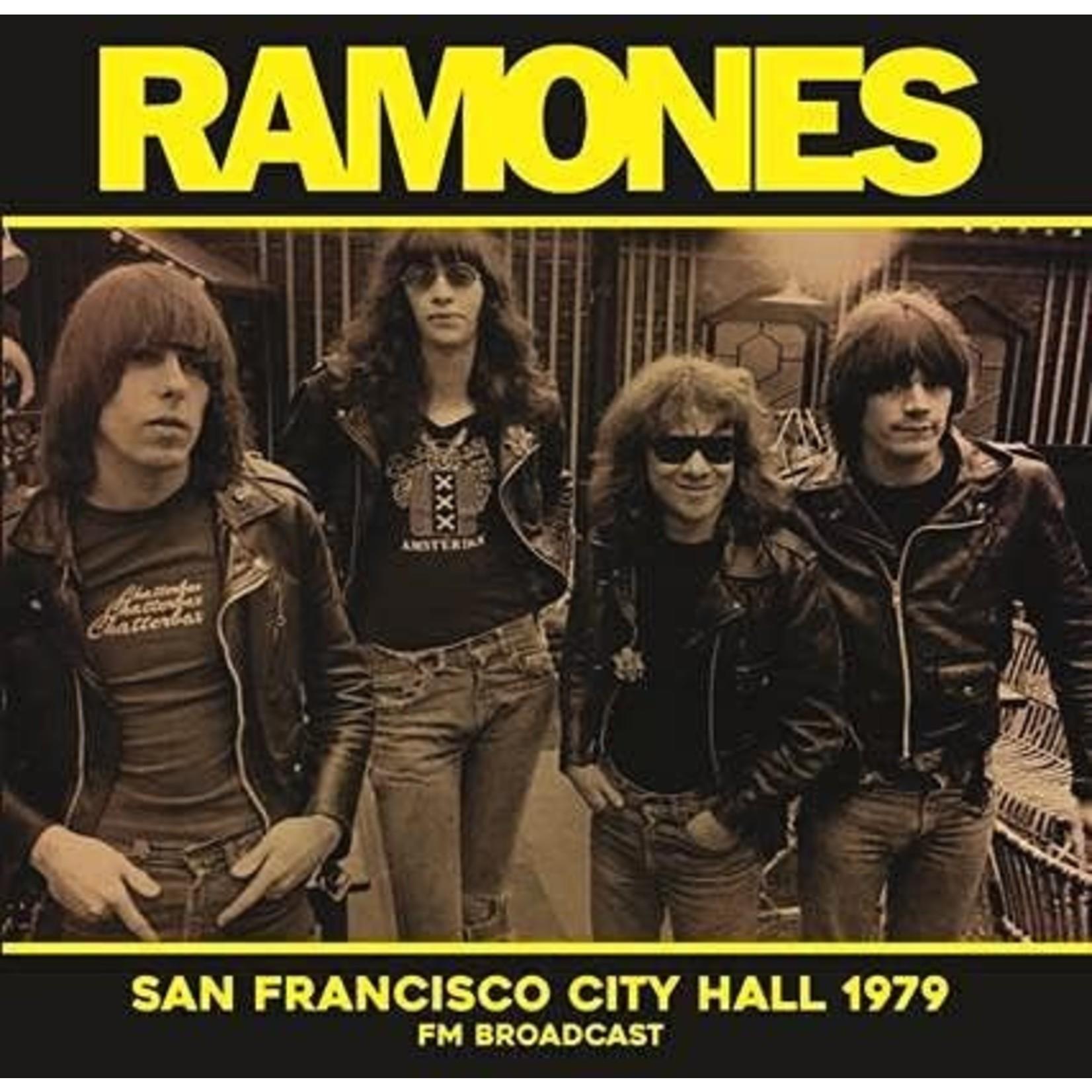 RAMONES SAN FRANCISCO CITY HALL 1979 FM BROADCAST  LP