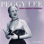 PEGGY LEE RSD21 - WORLD BROADCAST RECORDINGS 1955, VOL. 1 TRANS PINK VINYL