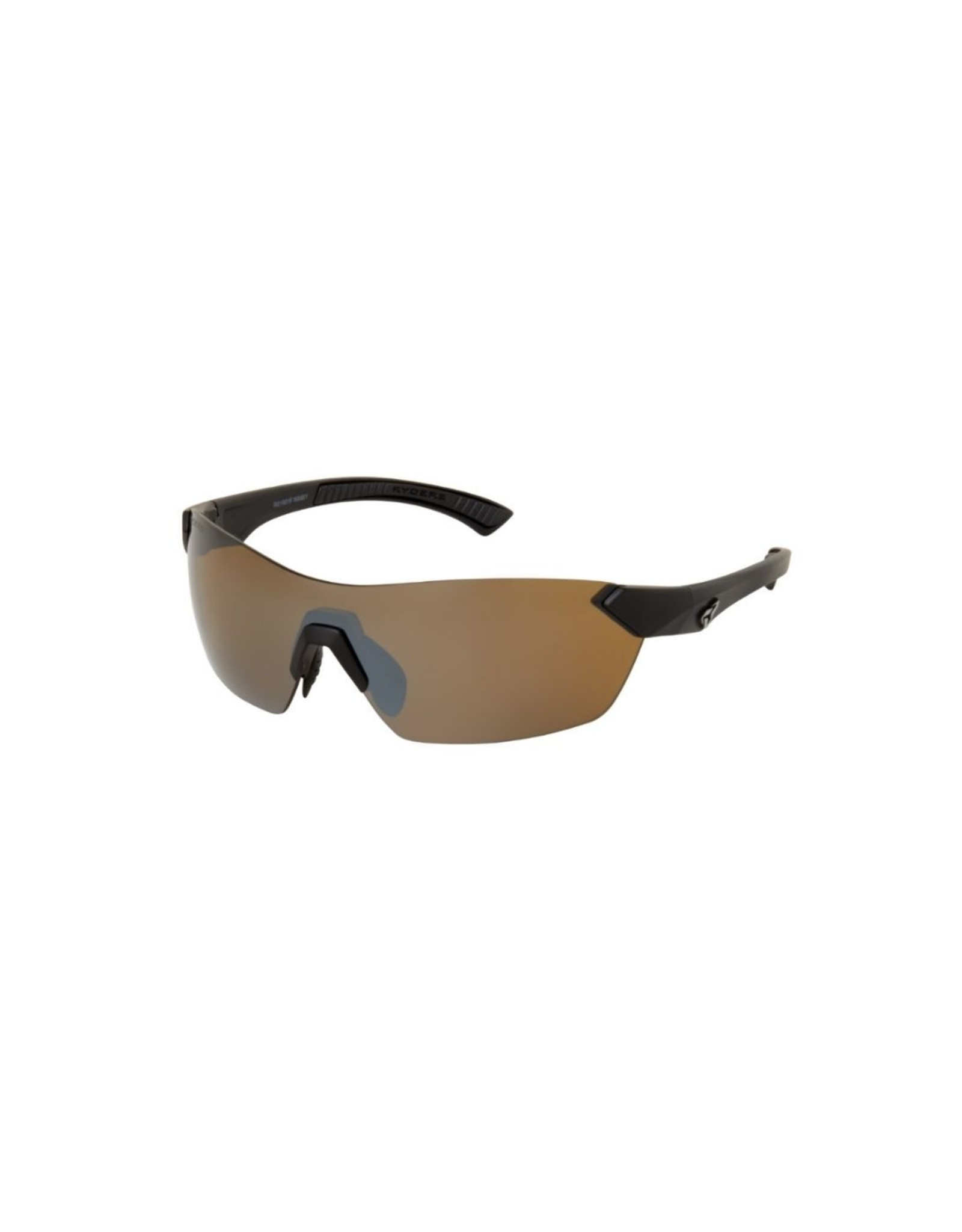 Ryders Eyewear - Nimby Matte Black/Brown Lens Silver FM