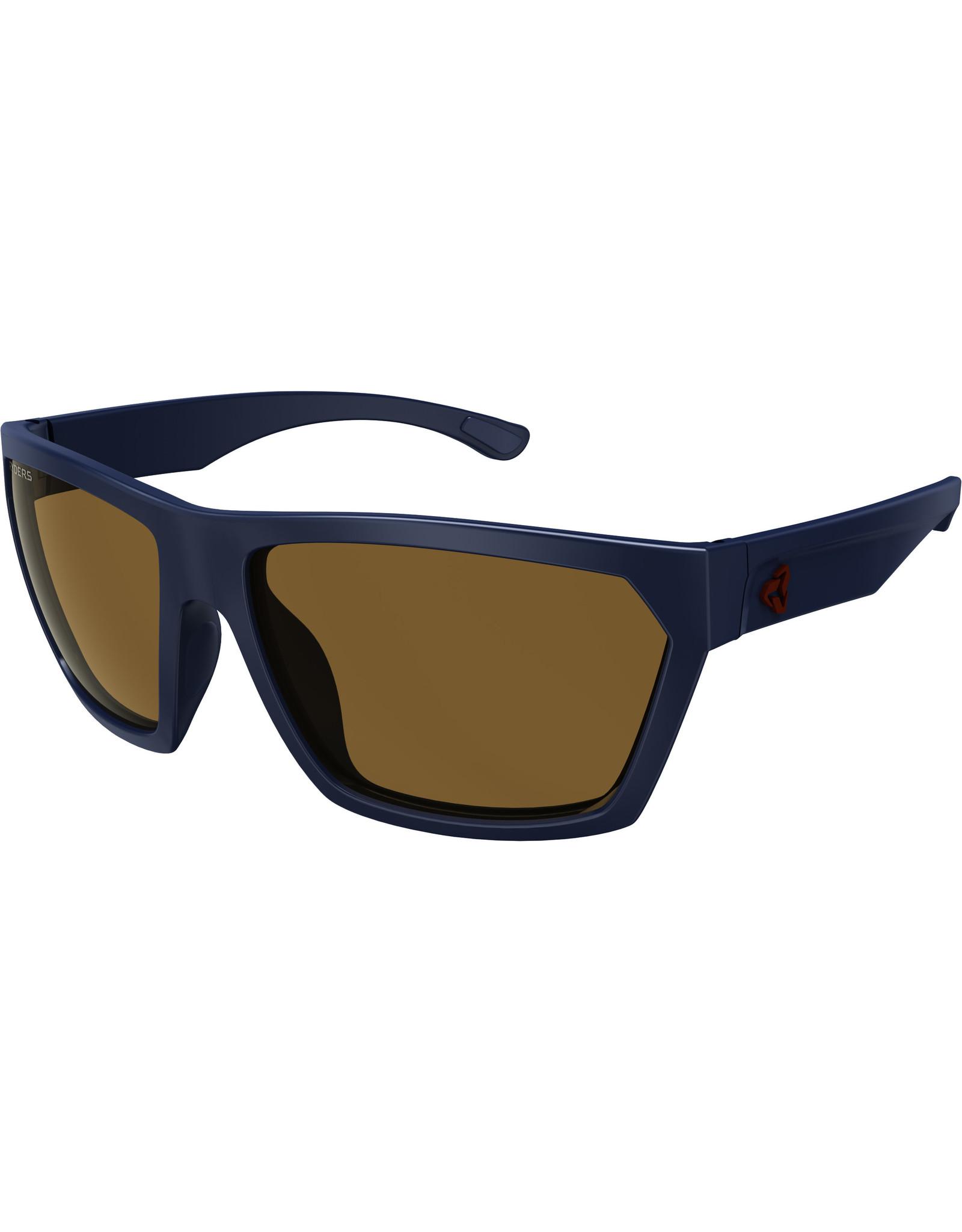 Ryders Eyewear - Loops Poly Black Matte/Brown Lens