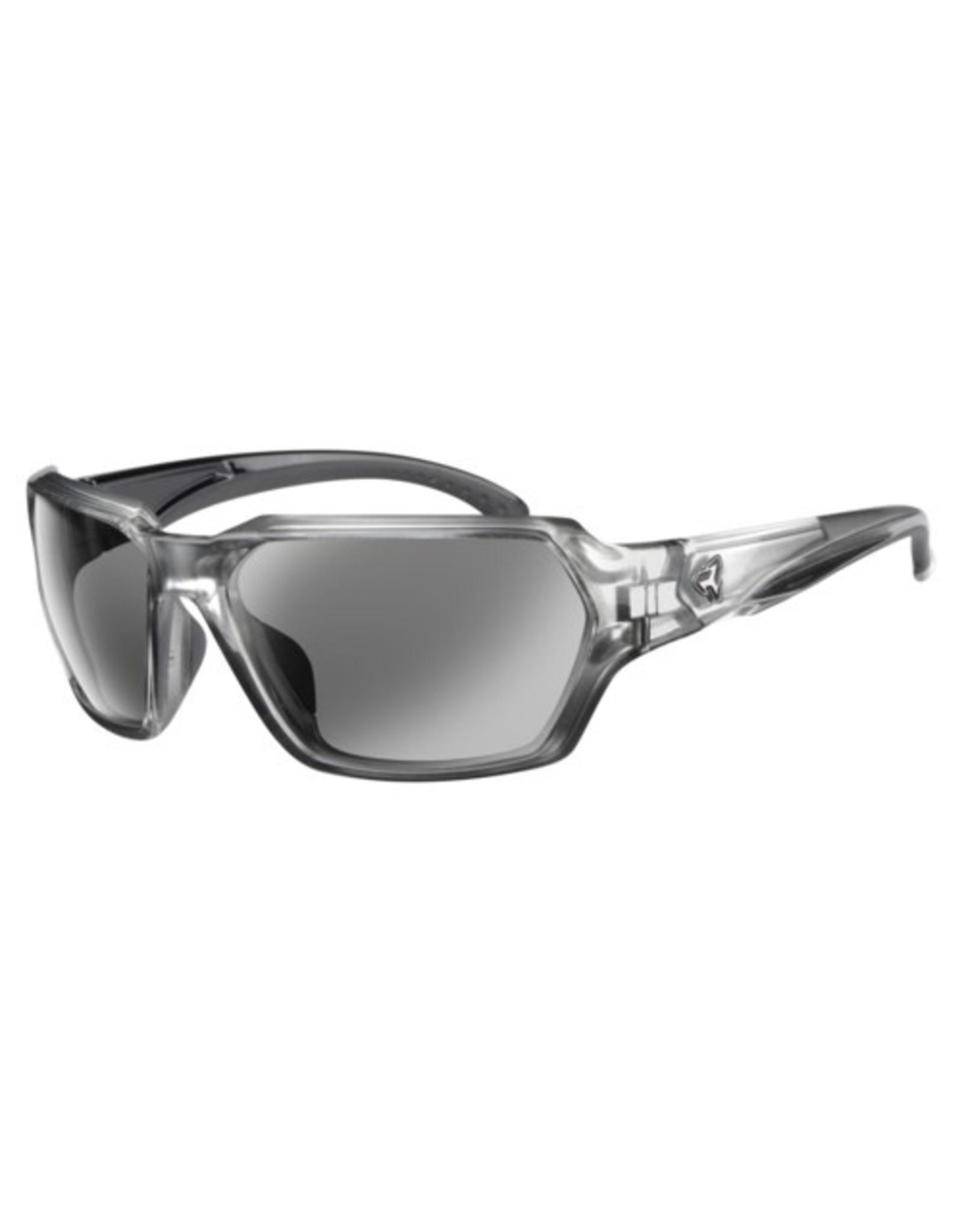 Ryders Eyewear - Face Poly Xtal Silver-Black/Grey Lens Silver FM