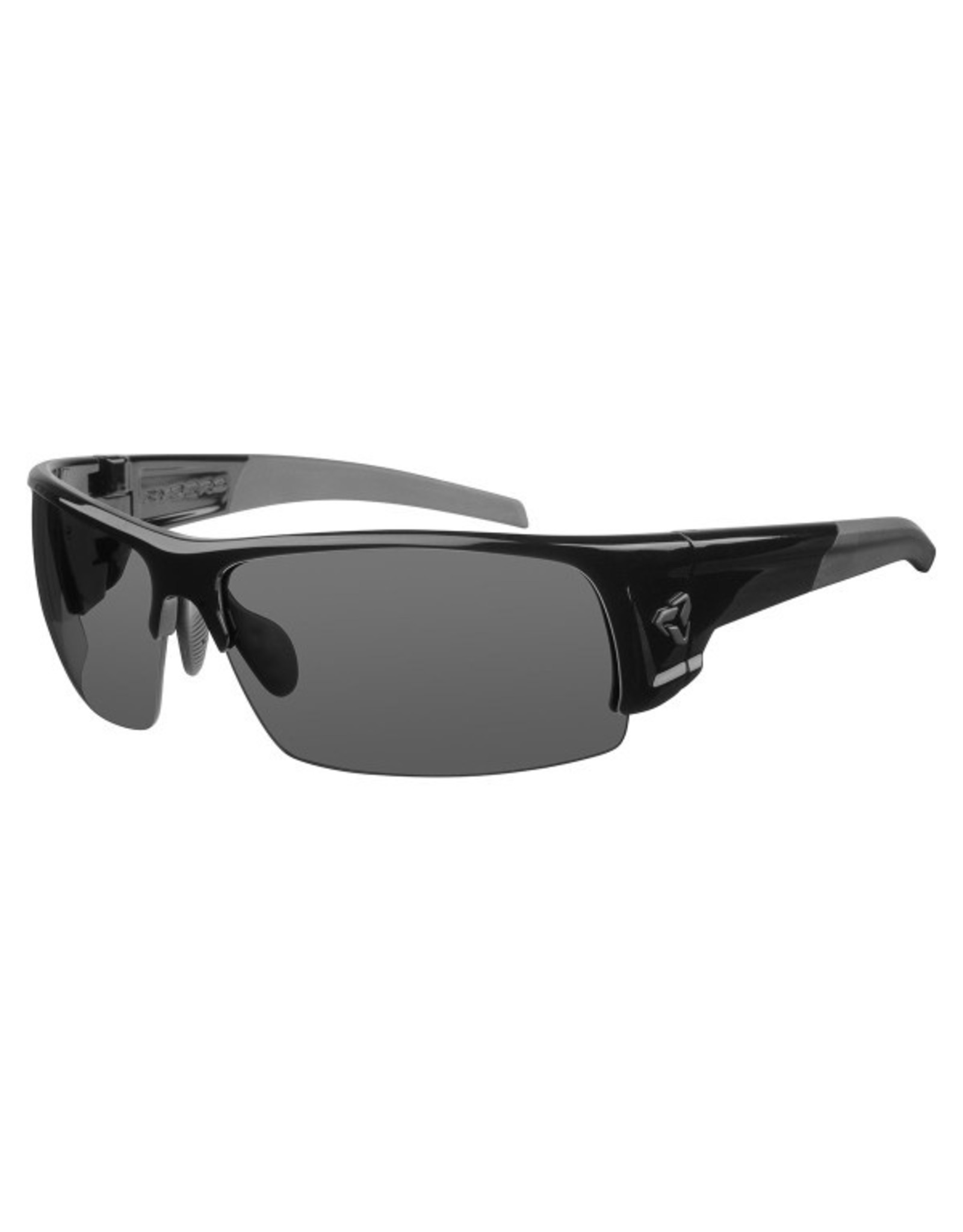 Ryders Eyewear - Caliber Poly Black/Grey Lens