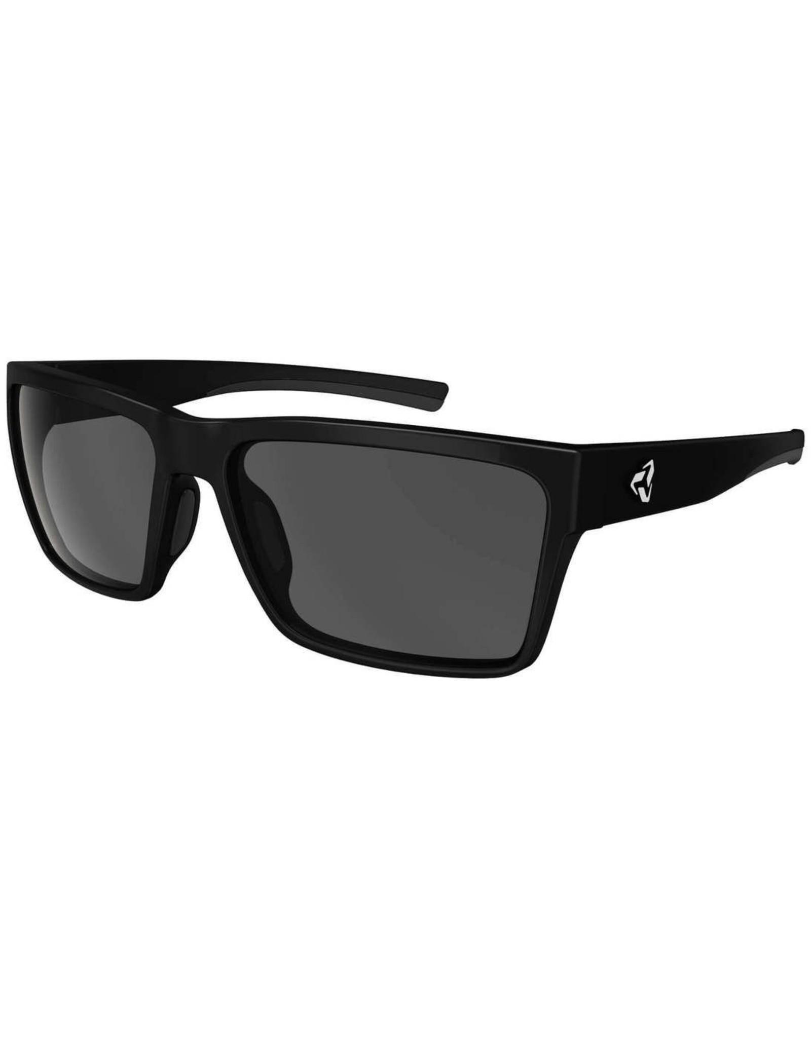 Ryders Eyewear - Nelson Polar Black Matte/Grey Lens