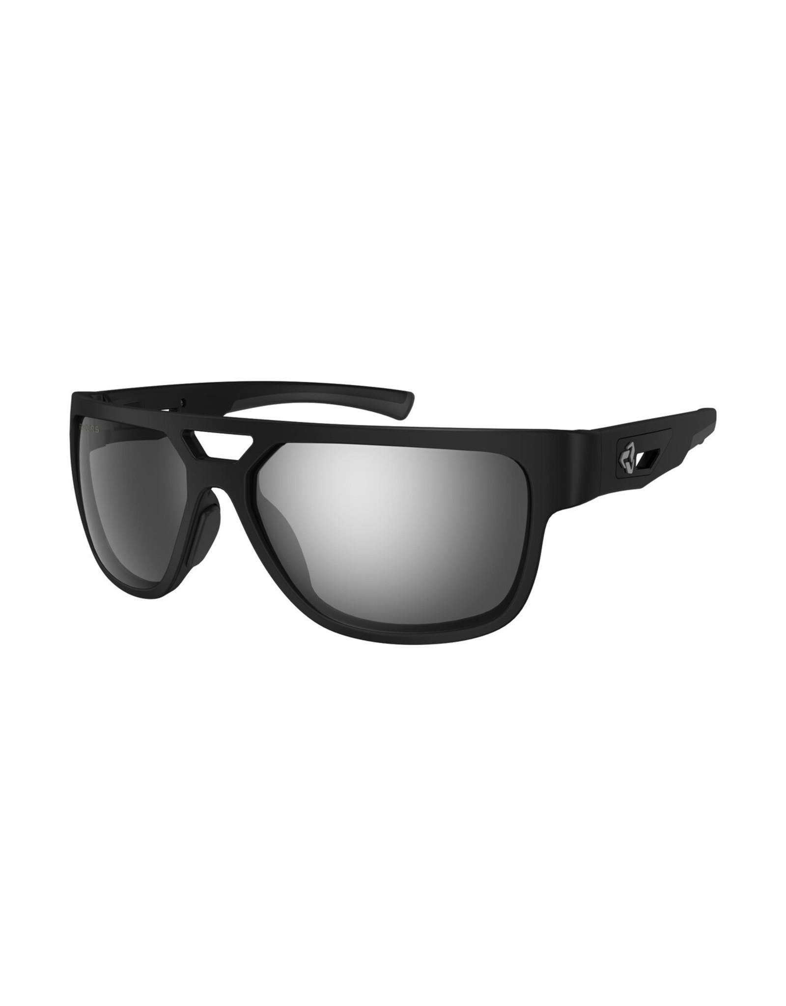 Ryders Eyewear - Cakewalk Polar Black/Grey Lens Silver FM