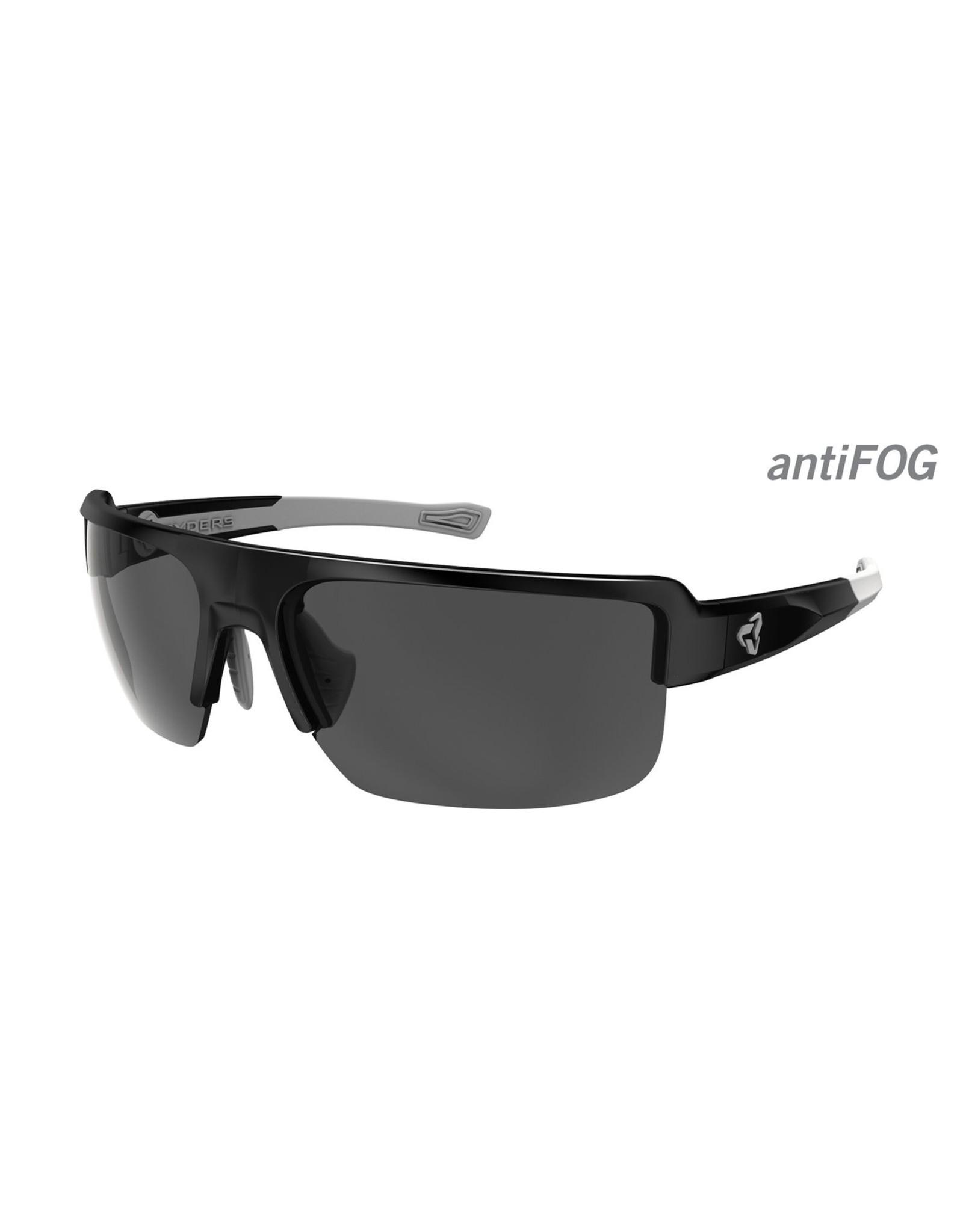 Ryders Eyewear - Seventh Poly Black-Grey/Grey Lens Anti Fog
