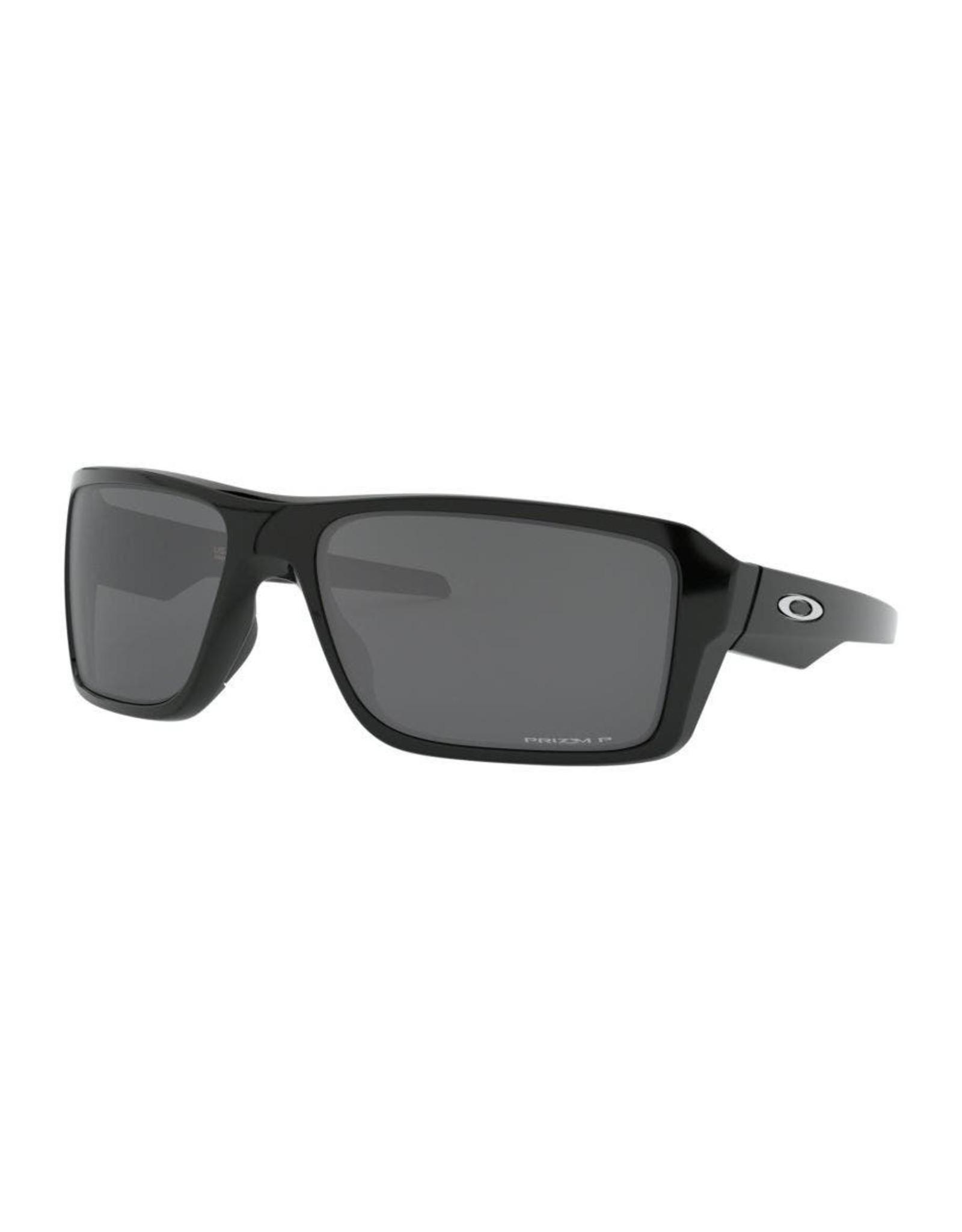 Oakley Mens sunglasses DOUBLE EDGE matte black w/ dark grey