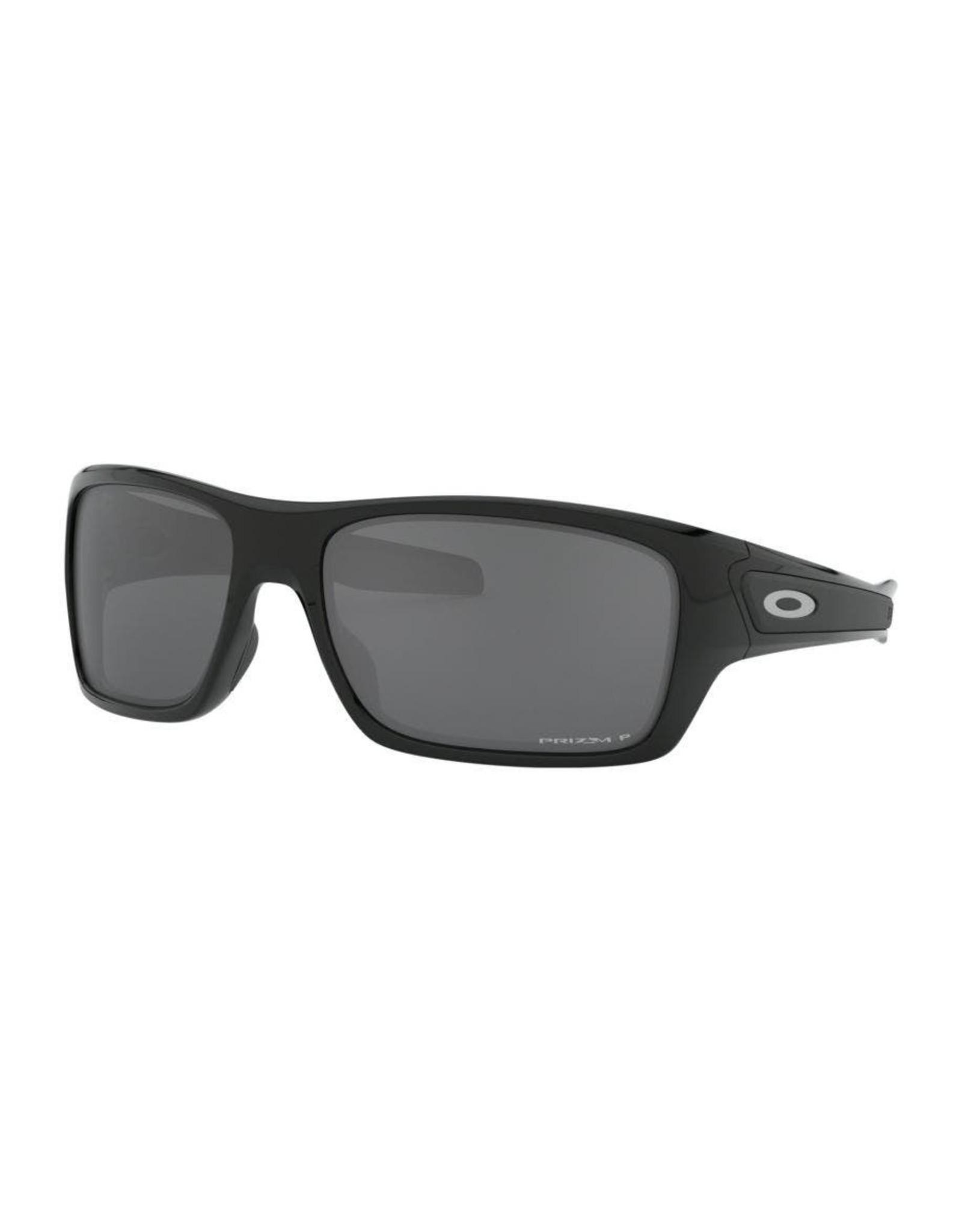 Oakley Mens sunglasses Turbine matte black w/ prizm black iridium