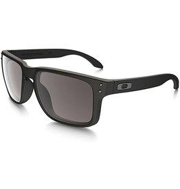 Oakley Mens sunglasses Holbrook matte black w/ prizm grey