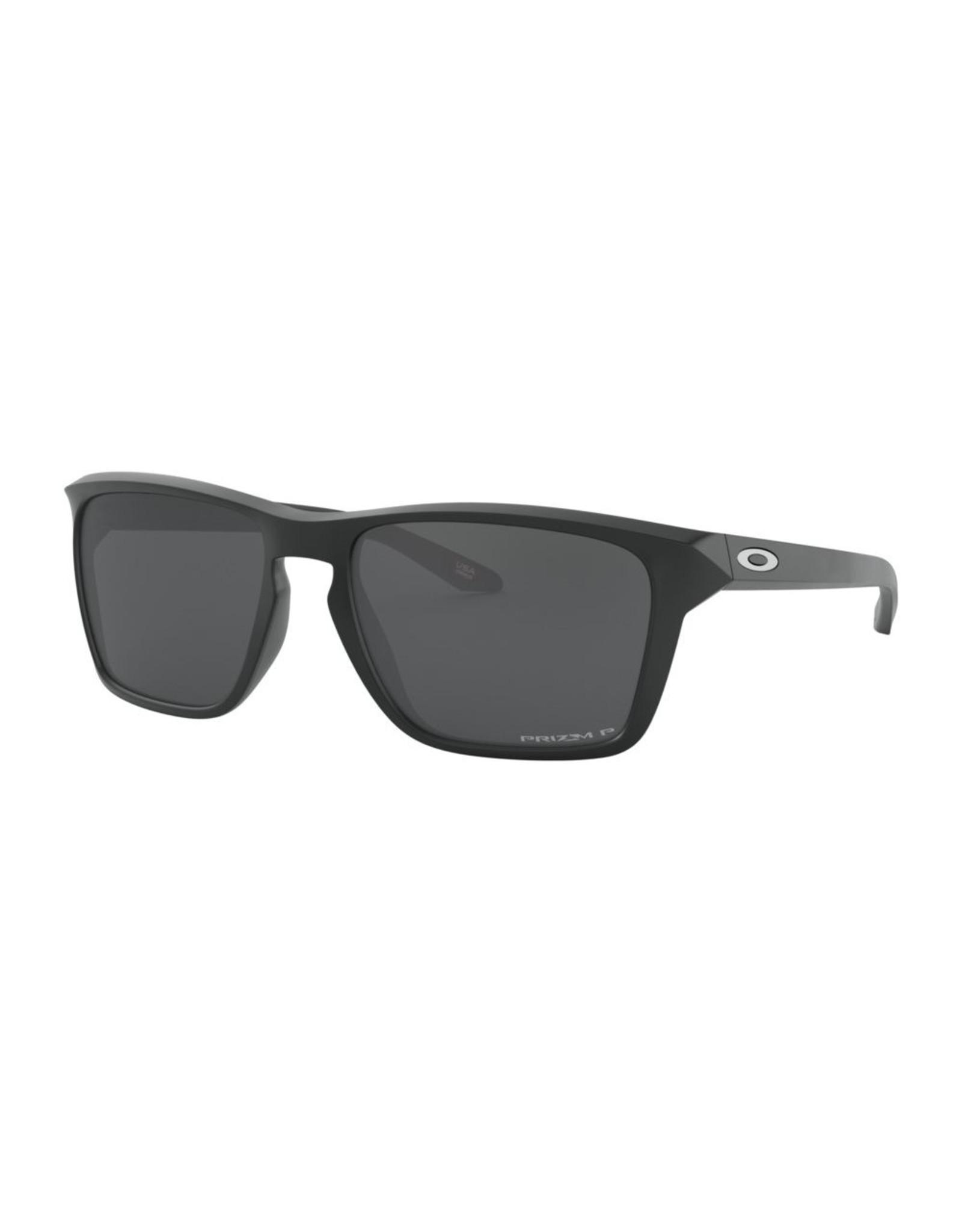 Oakley Mens sunglasses SYLAS matte black w/ prizm black pol