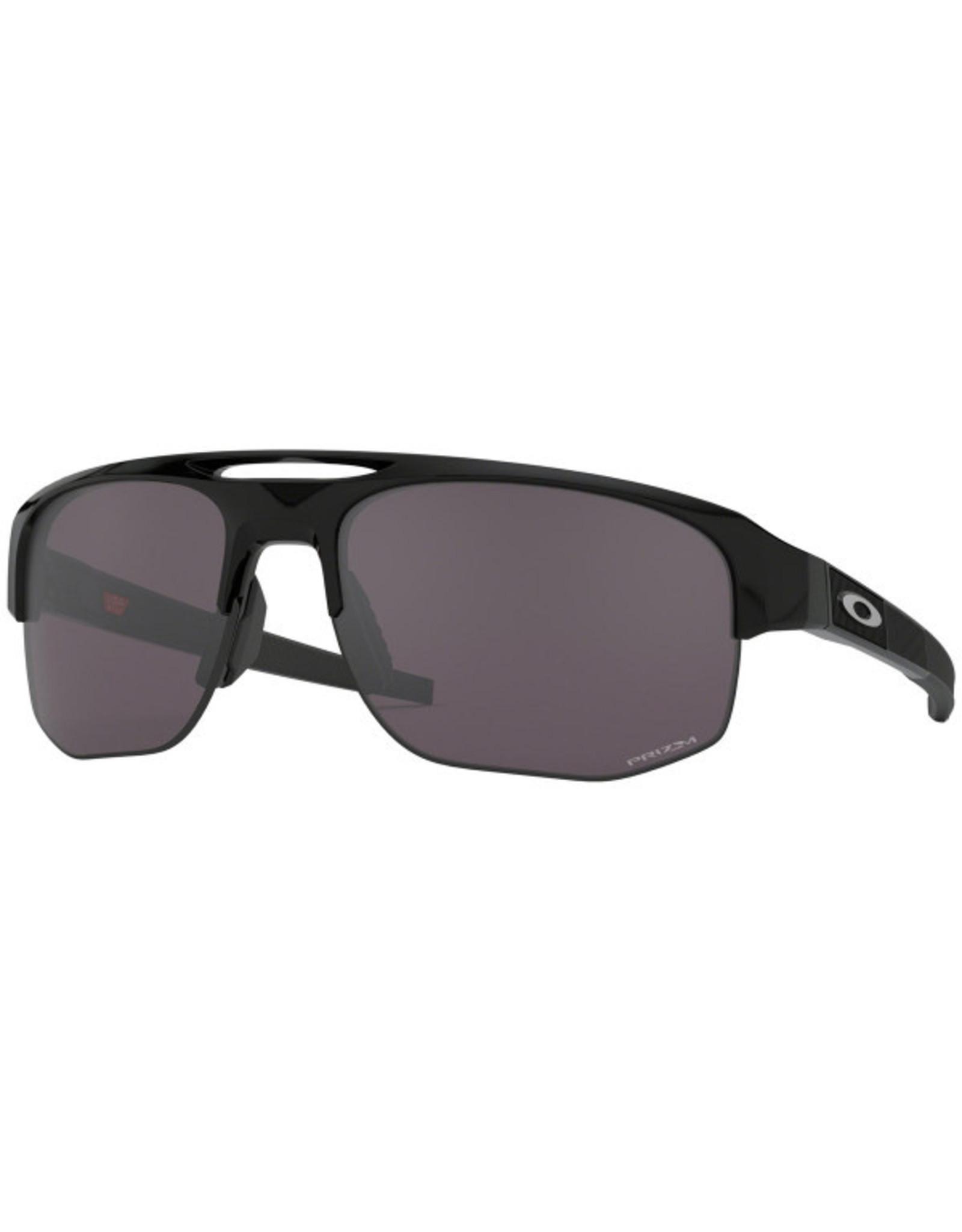 Oakley mens sunglasses MERCENARY polishes black w/ prizm grey