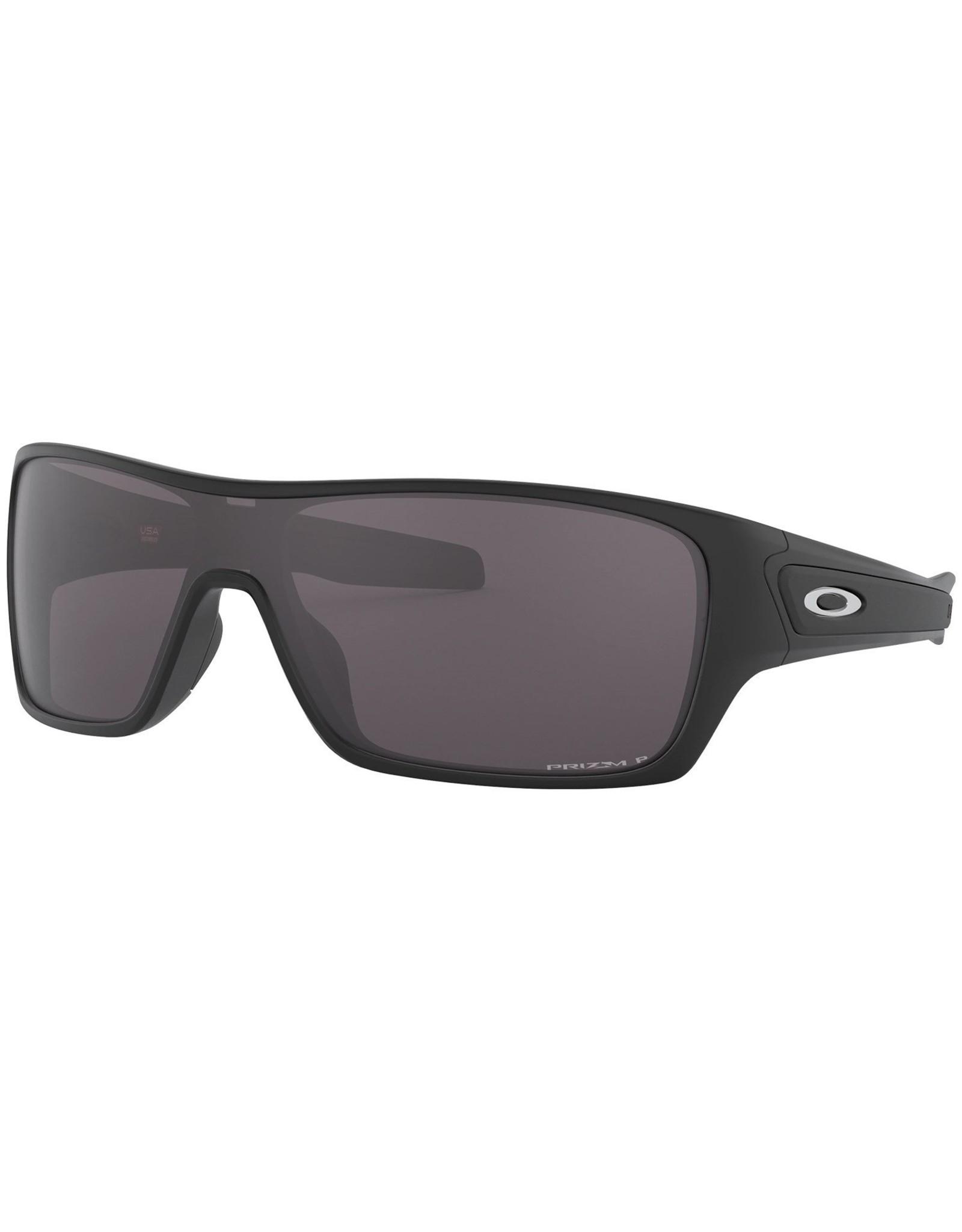 Oakley mens sunglasses TURBINE ROTOR polished black w/ prizm black pol