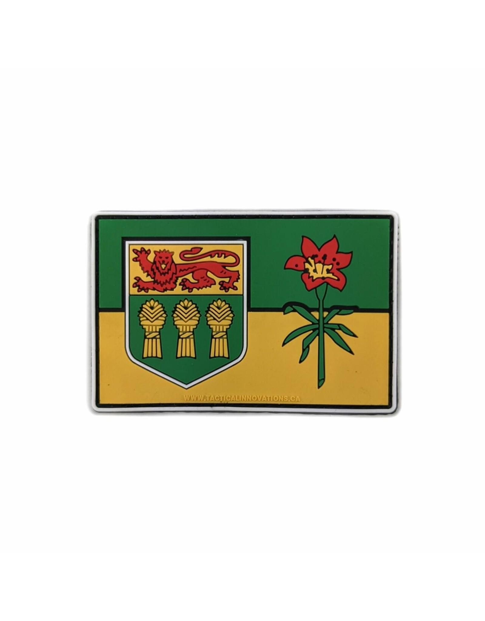 TIC Patch - SASK FLAG 2X3 COLOUR