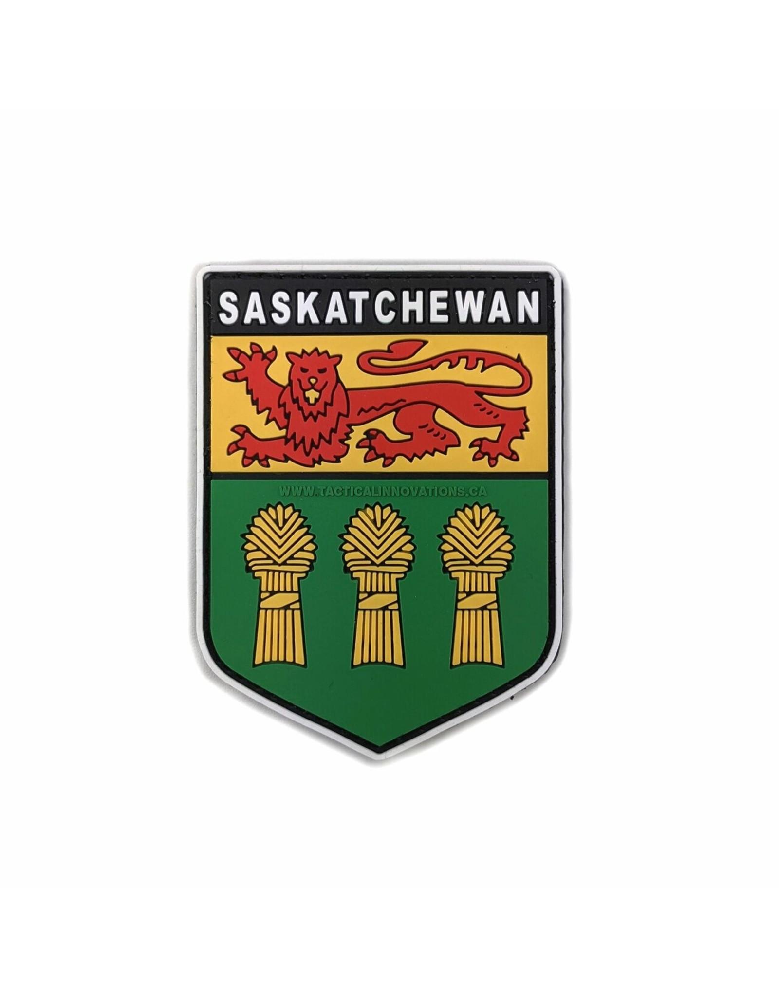 TIC Patch - SASKATCHEWAN SHIELD COLOUR