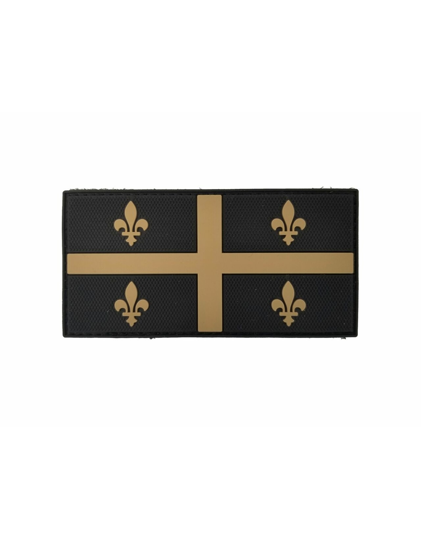 TIC Patch - QUEBEC FLAG 2X4 TAN