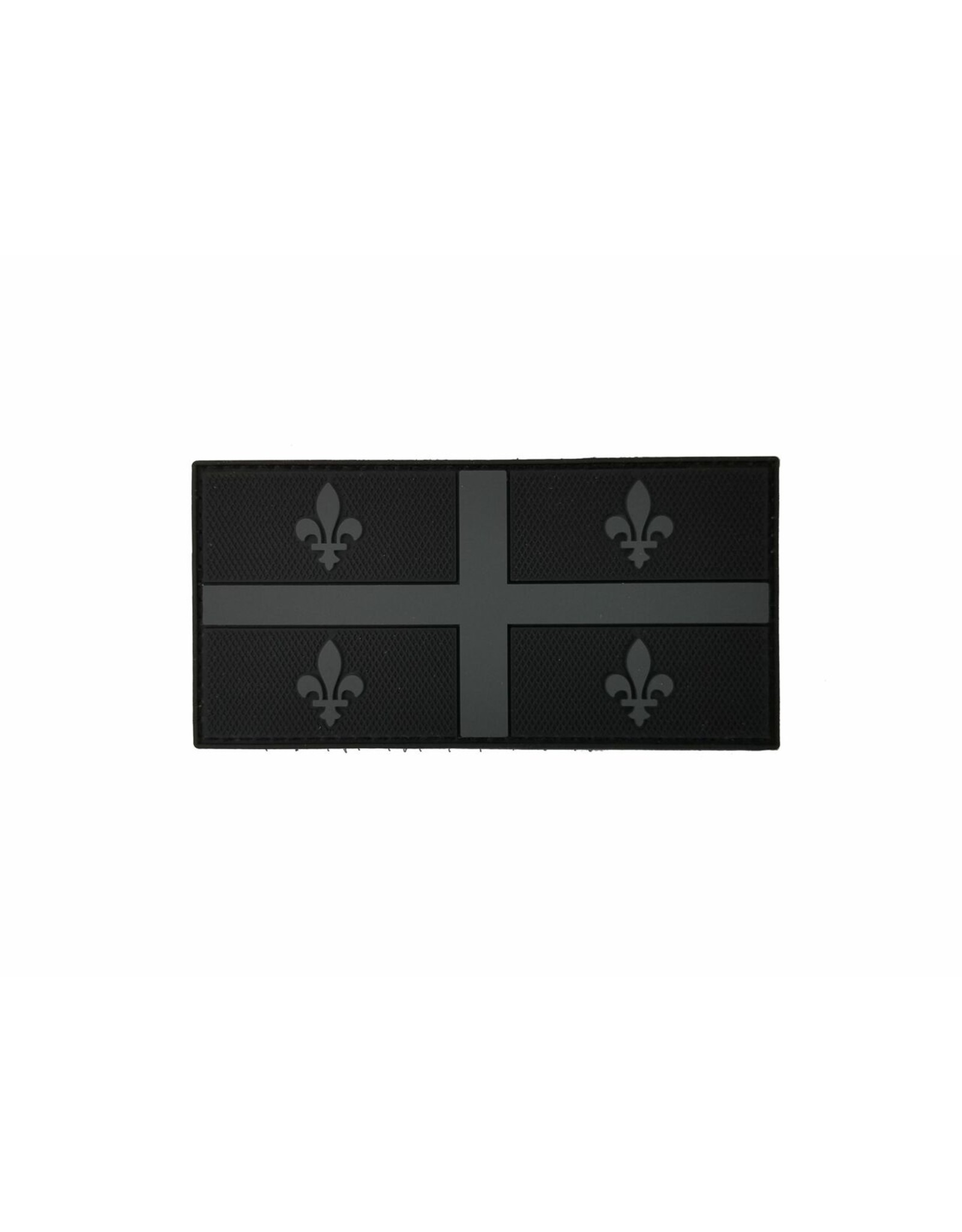 TIC Patch - QUEBEC FLAG 2X4 GREY