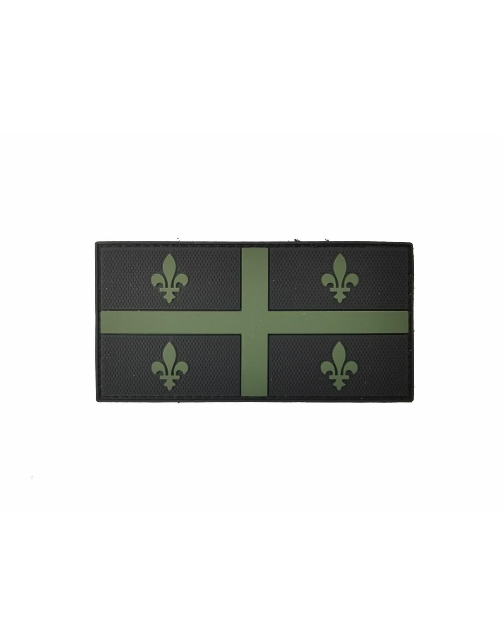 TIC Patch - QUEBEC FLAG 2X4 ODG
