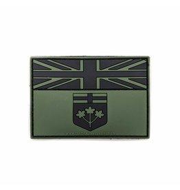 TIC Patch - ONTARIO FLAG 2X3 ODG