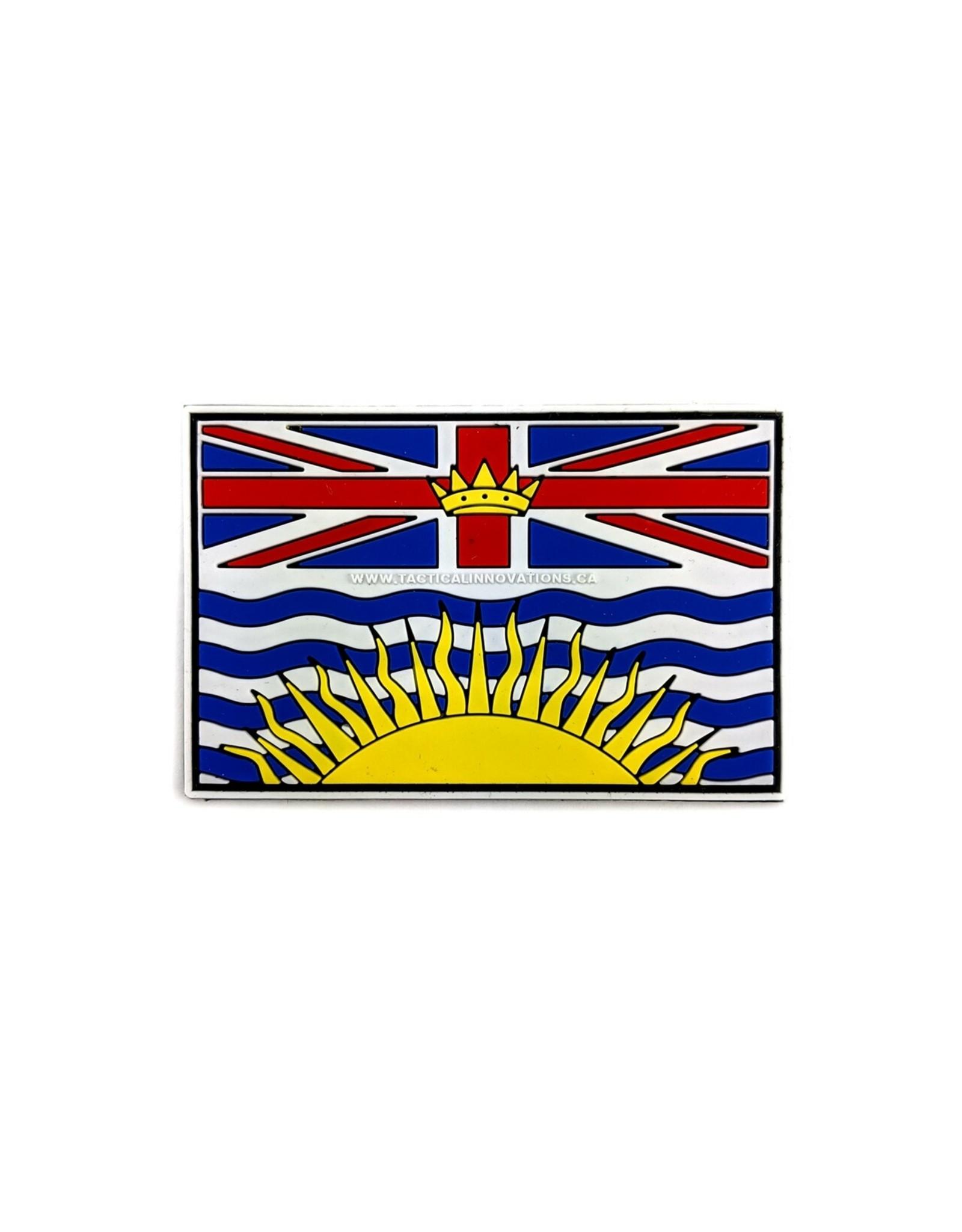TIC Patch - BC FLAG 2X2.5 COLOUR