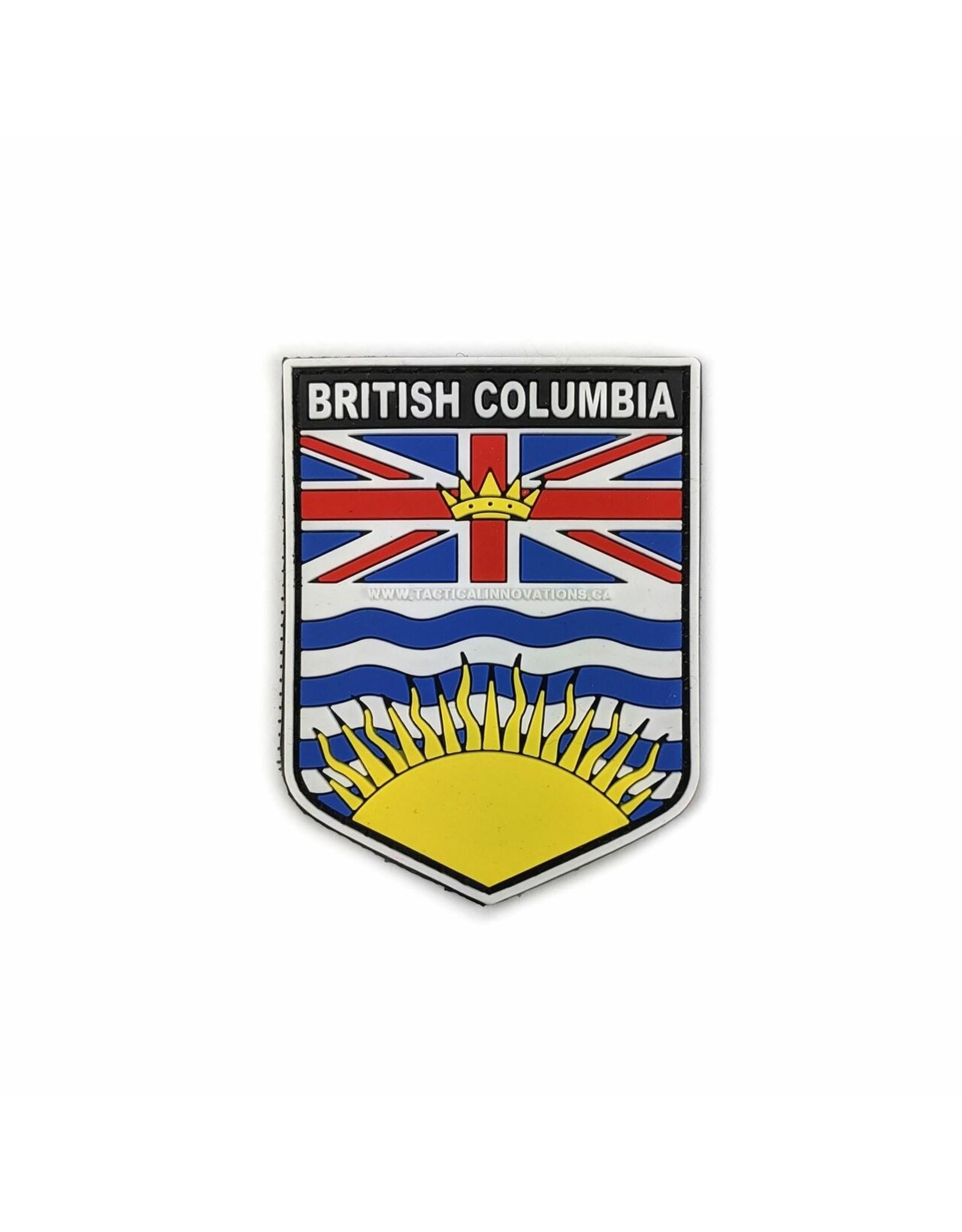 TIC Patch - BC SHIELD COLOUR