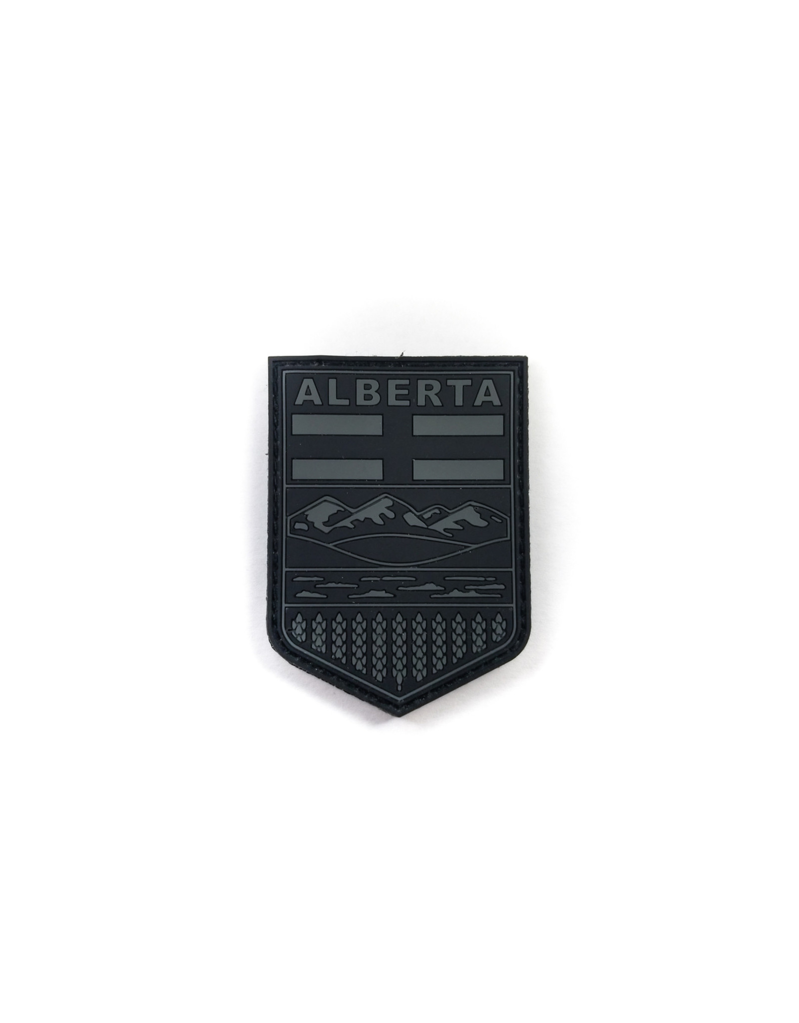 TIC Patch - Alberta Shield - GREY