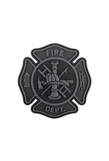 TIC Patch - FIRE DEPT- GREY