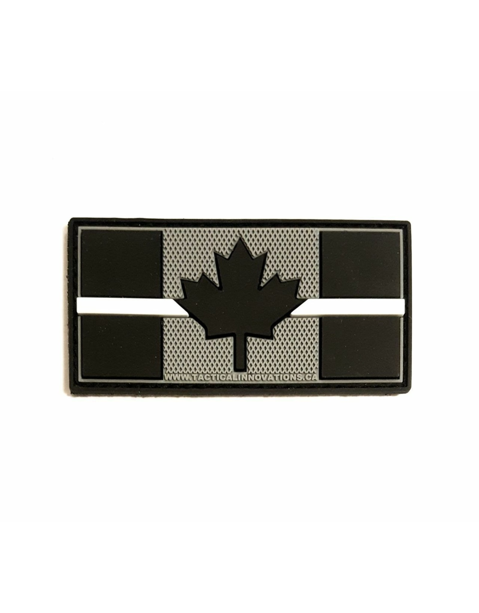 TIC Patch - THIN WHITE LINE FLAG 1.5X3