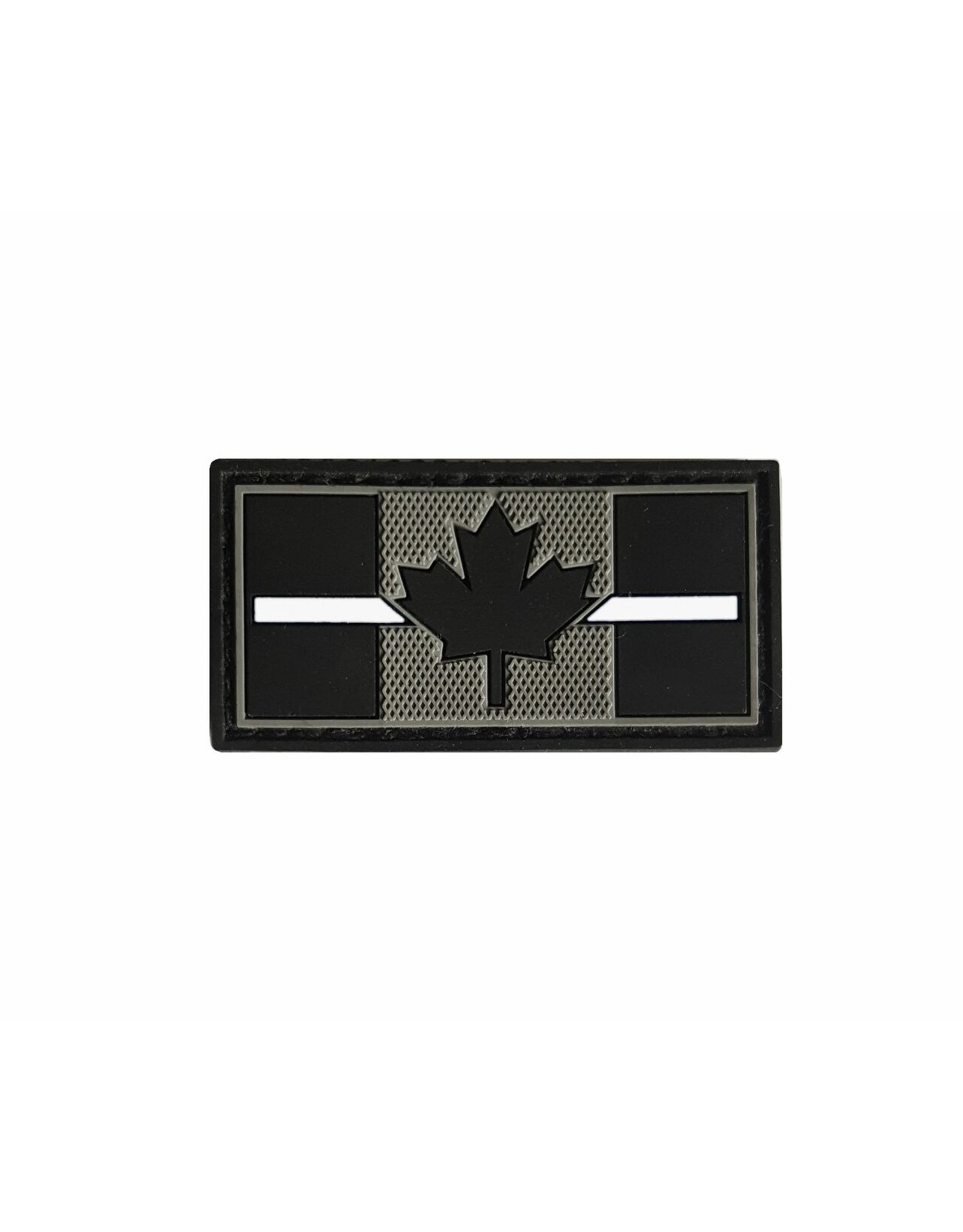 TIC Patch - THIN WHITE LINE FLAG 1X2
