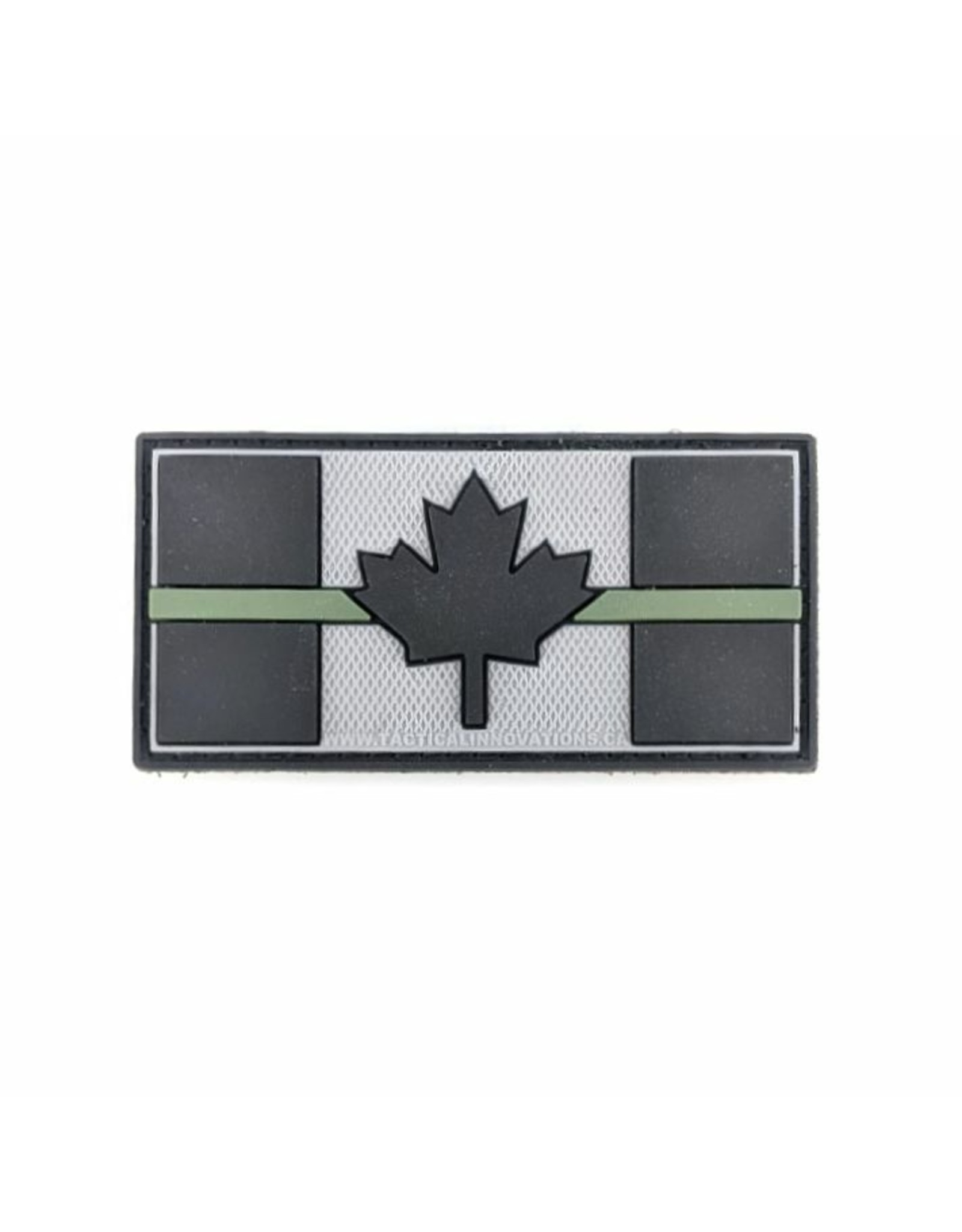 TIC Patch - THIN OD GREEN LINE FLAG 1.5X3