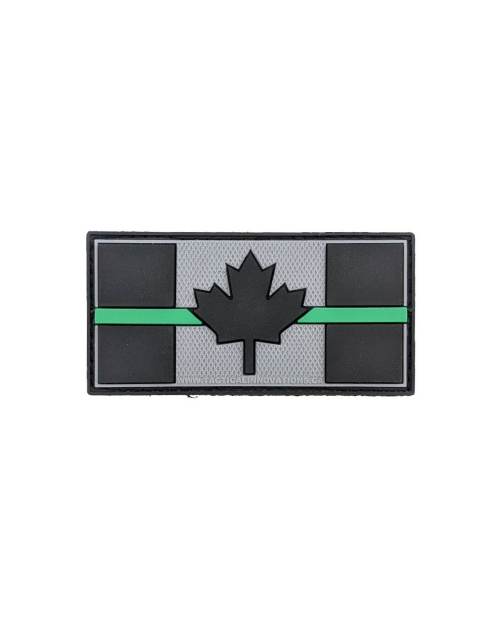 TIC Patch - THIN GREEN LINE FLAG 1.5X3