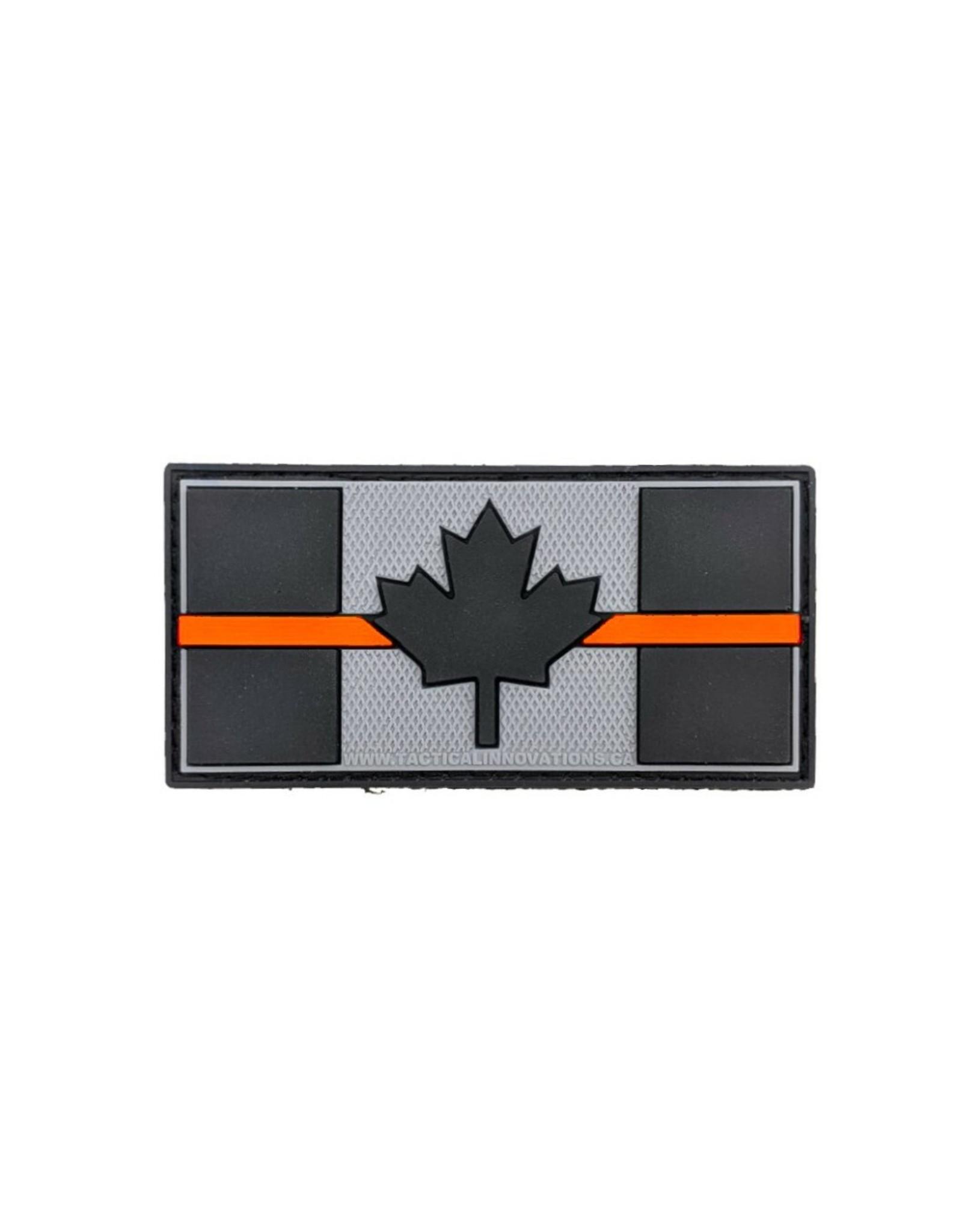 TIC Patch - THIN ORANGE  LINE FLAG 1.5X3