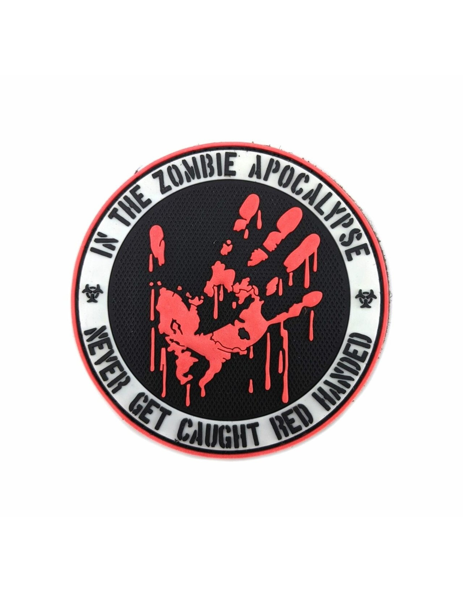 TIC Patch - ZOMBIE RED HANDED