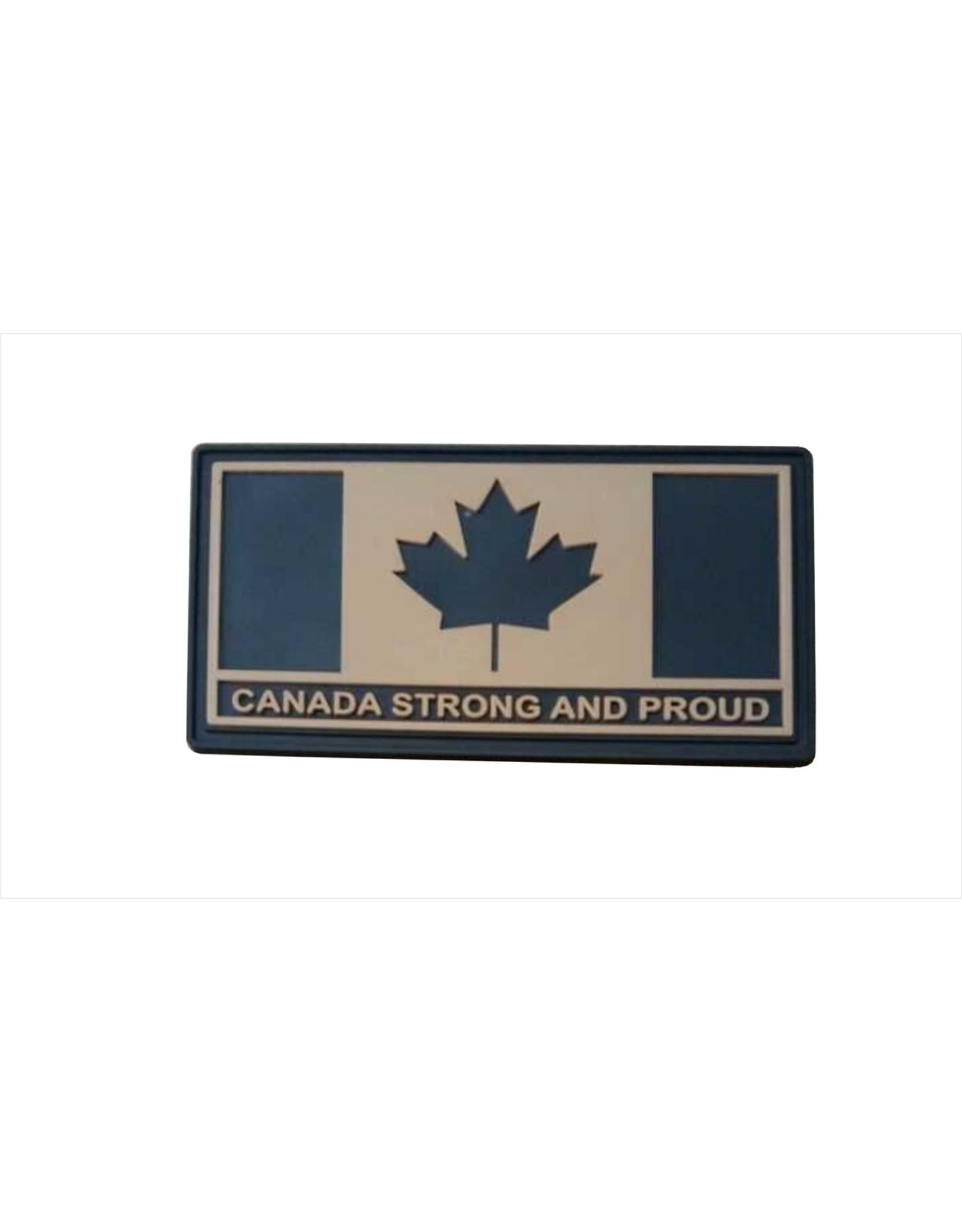 TIC Patch - CANADA STRONG AND PROUD GREY